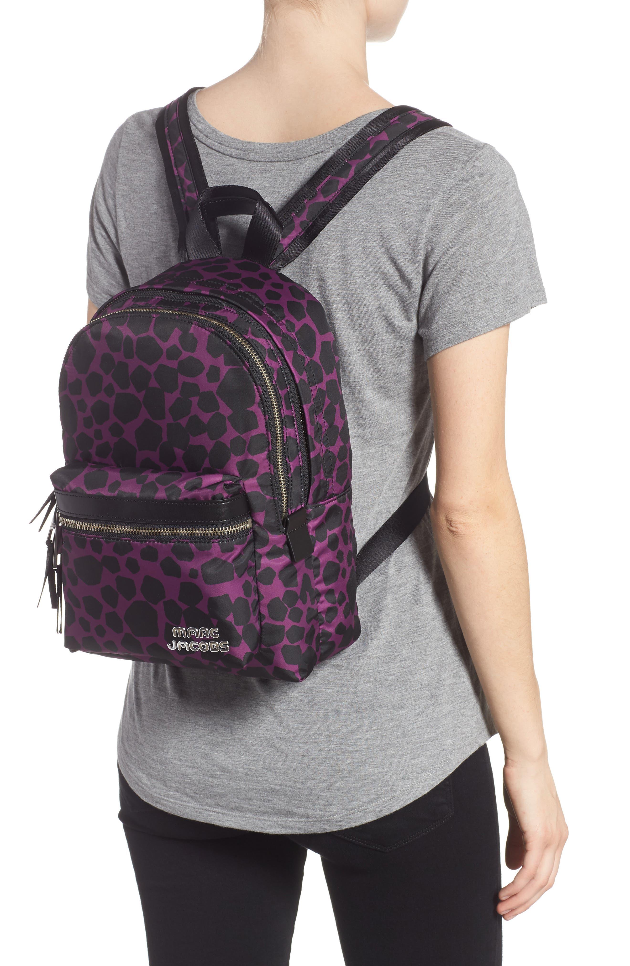 Medium Trek Pack Pebbles Backpack,                             Alternate thumbnail 2, color,                             BERRY MULTI