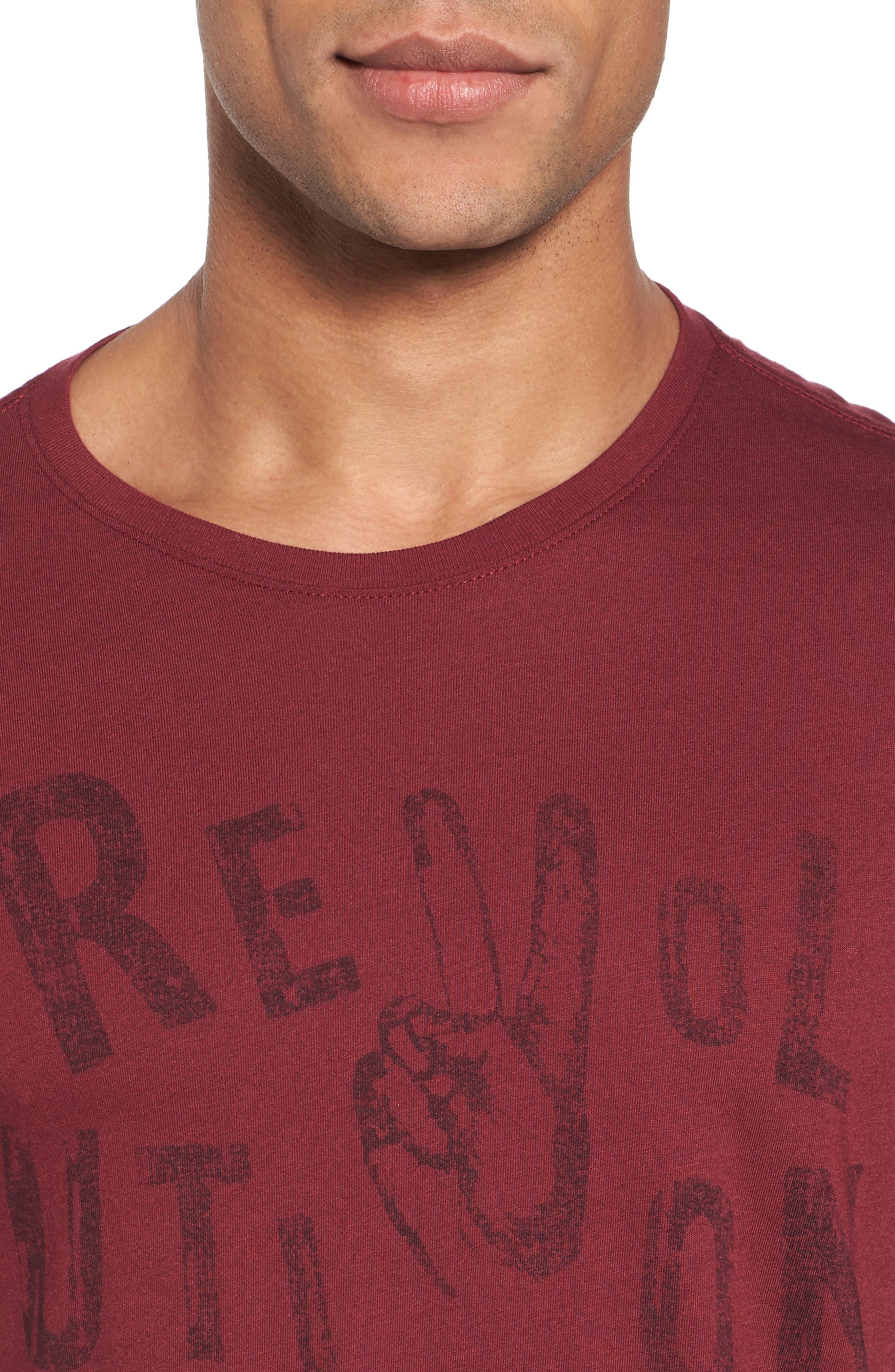 Revolution Graphic T-Shirt,                             Alternate thumbnail 8, color,