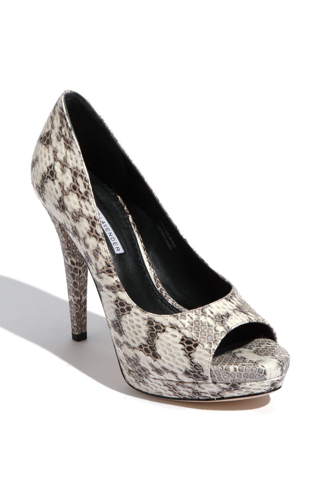 Footwear 'Selima' Peep Toe Pump,                             Main thumbnail 4, color,