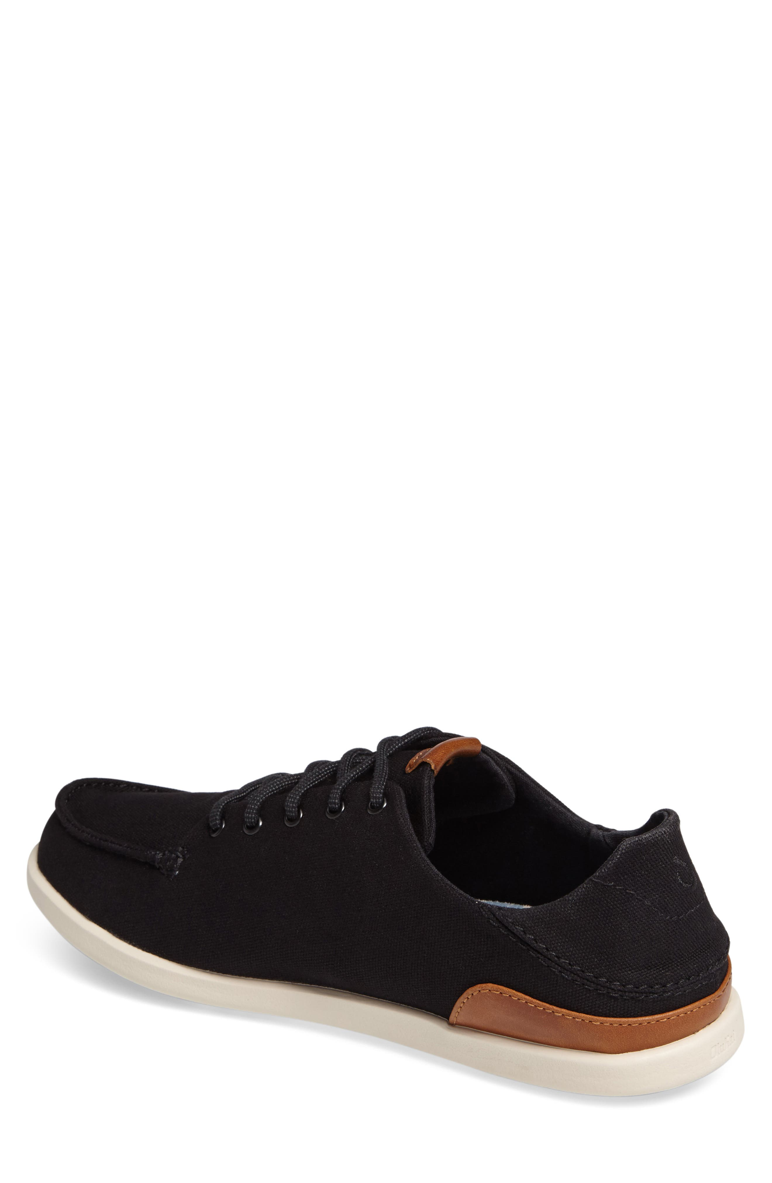 Manoa Sneaker,                             Alternate thumbnail 2, color,                             BLACK/ MUSTARD