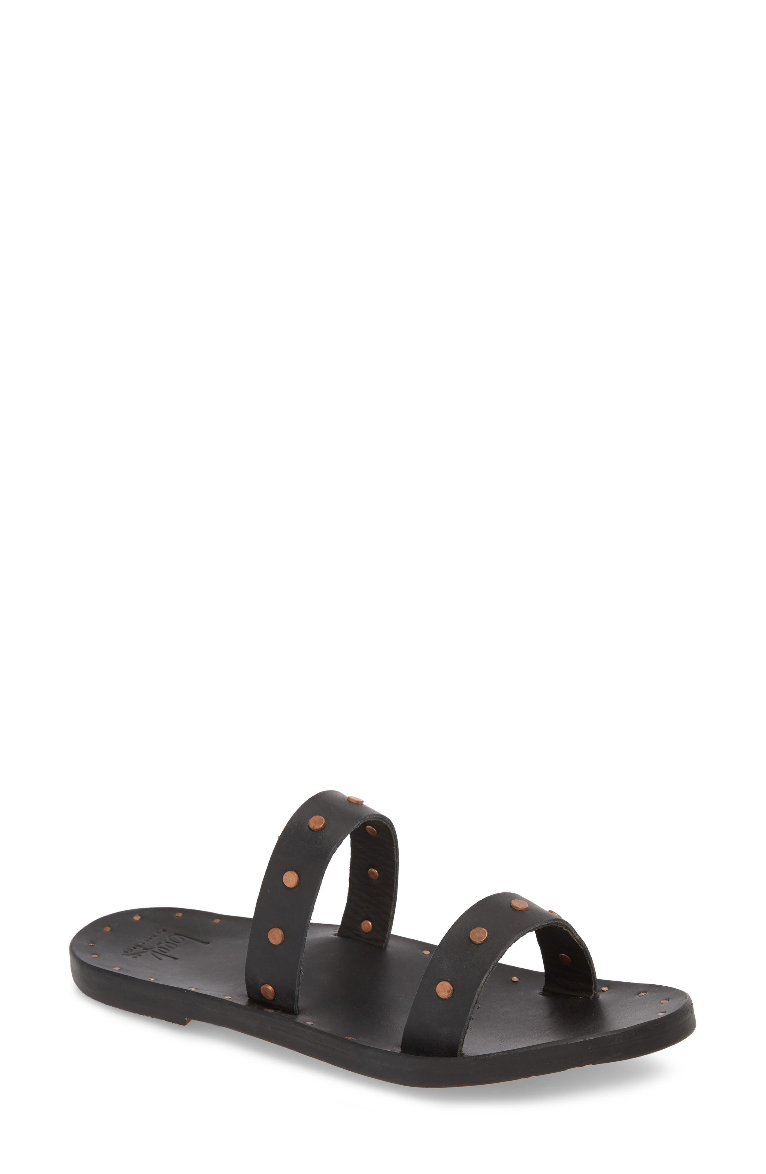 Woodpecker Studded Slide Sandal,                             Main thumbnail 1, color,