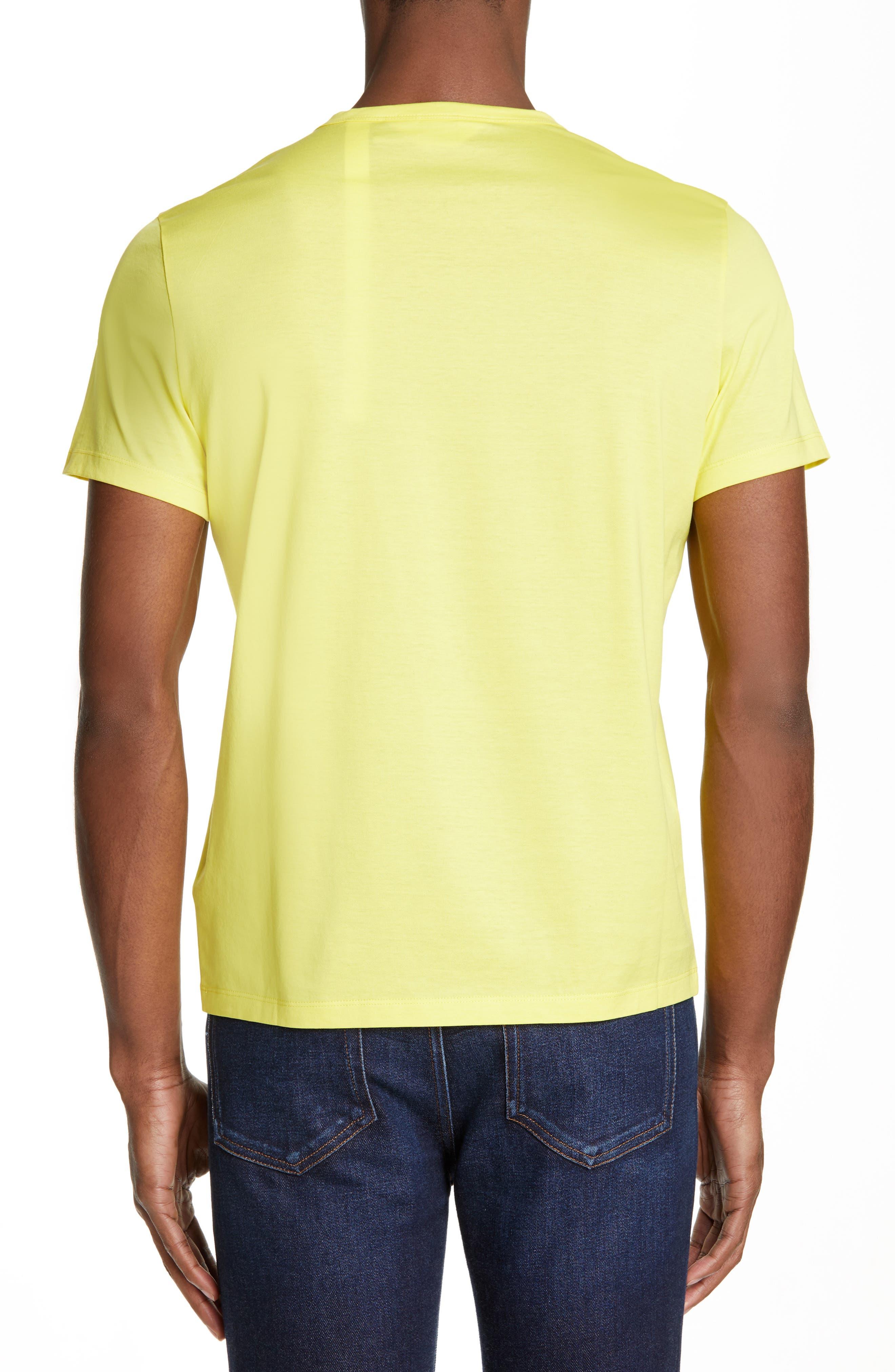 Neon T-Shirt,                             Alternate thumbnail 2, color,                             NEON YELLOW