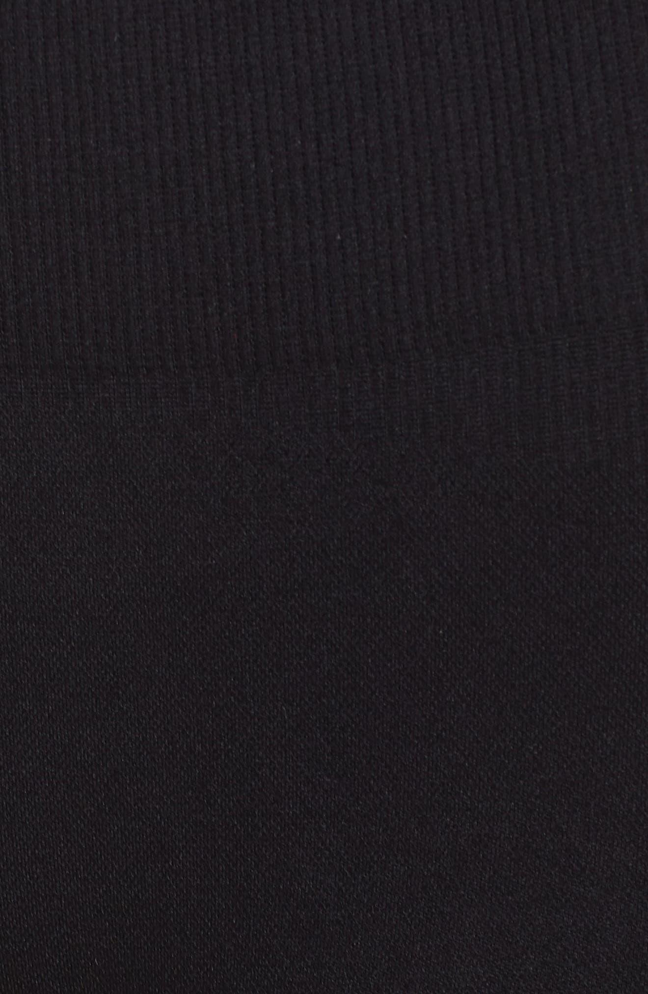 Momentum Seamless Shorts,                             Alternate thumbnail 6, color,                             BLACK