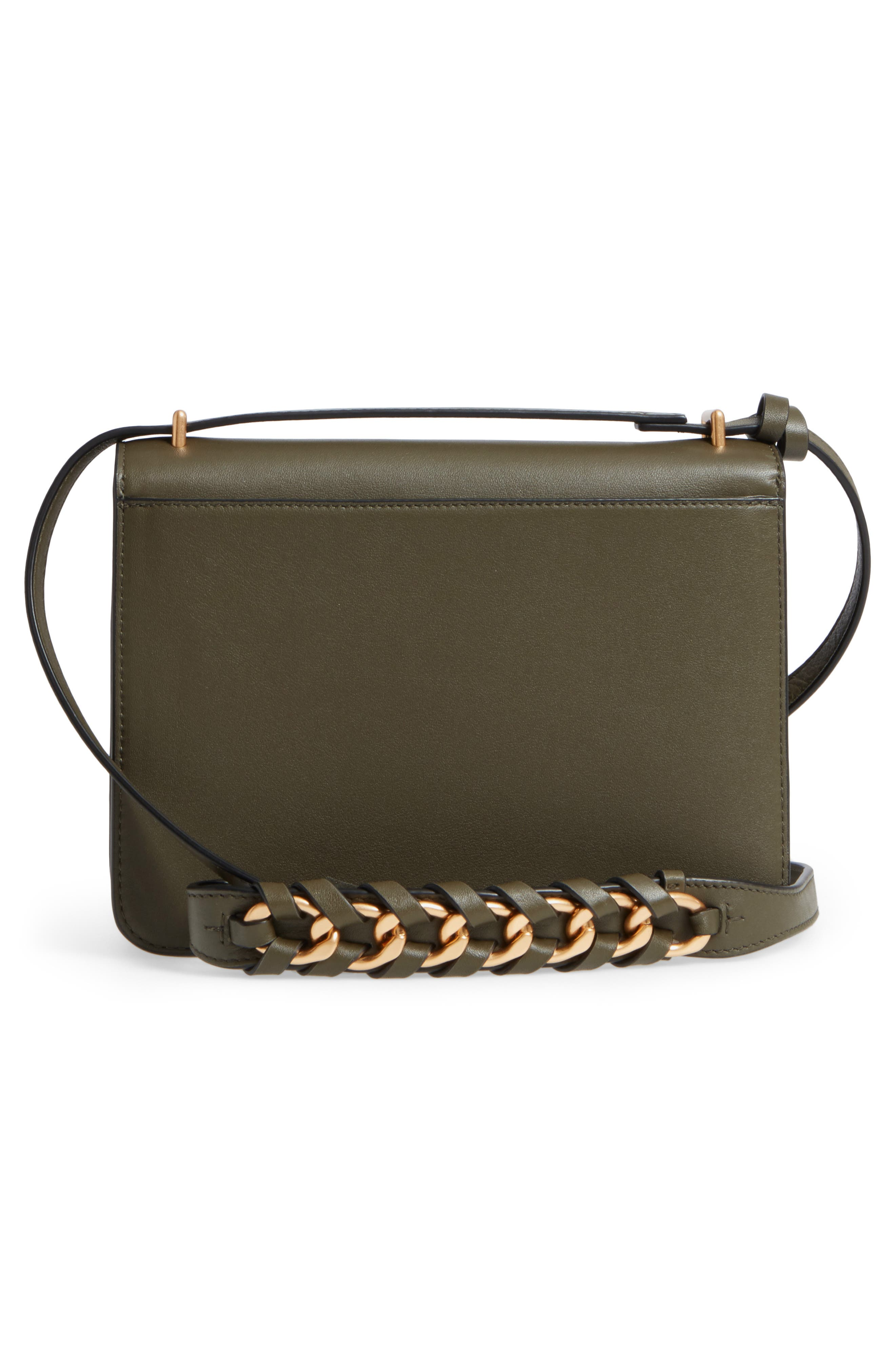 Brooke Leather Crossbody Bag,                             Alternate thumbnail 9, color,