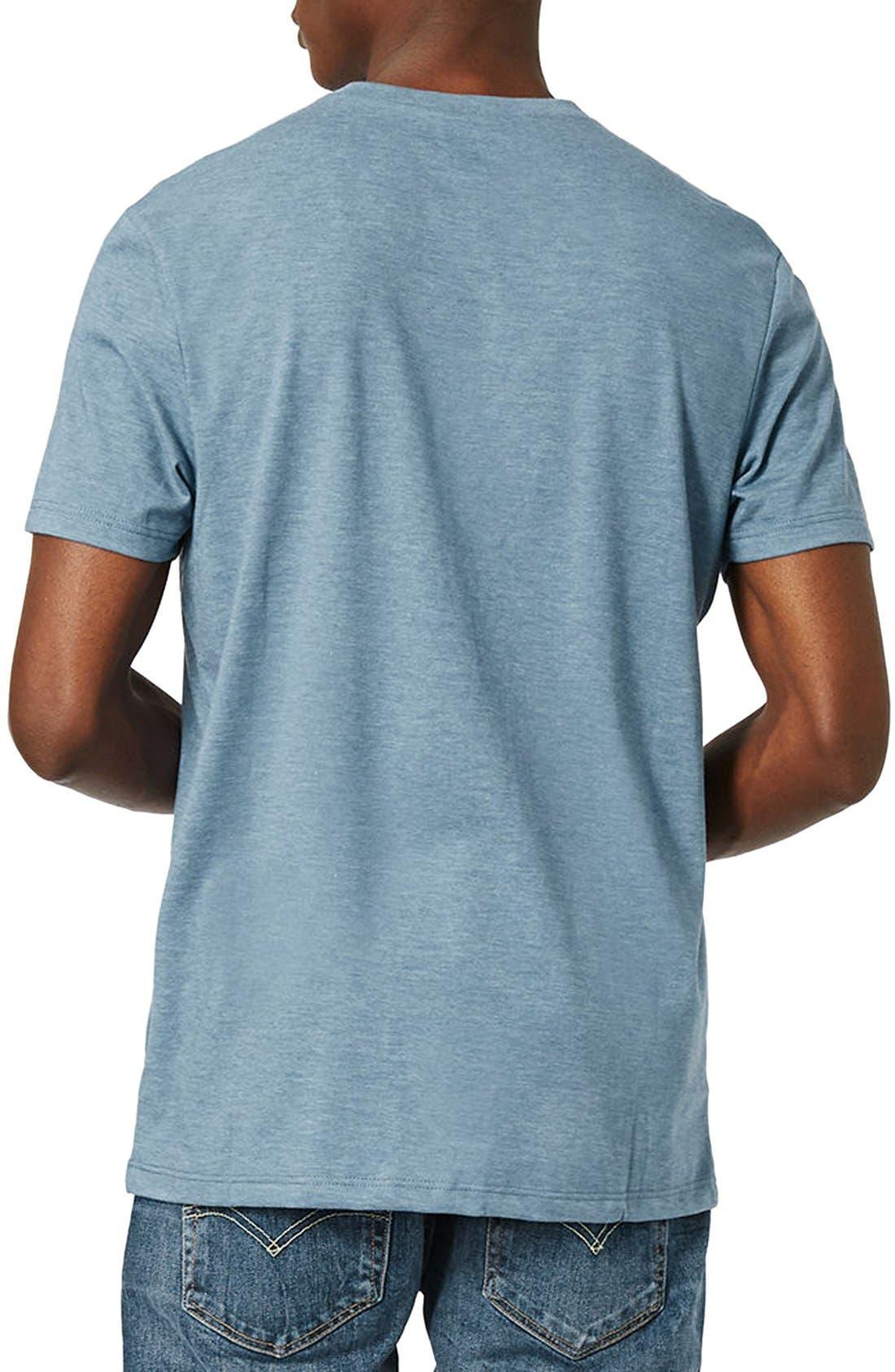 Slim Fit Crewneck T-Shirt,                             Alternate thumbnail 260, color,
