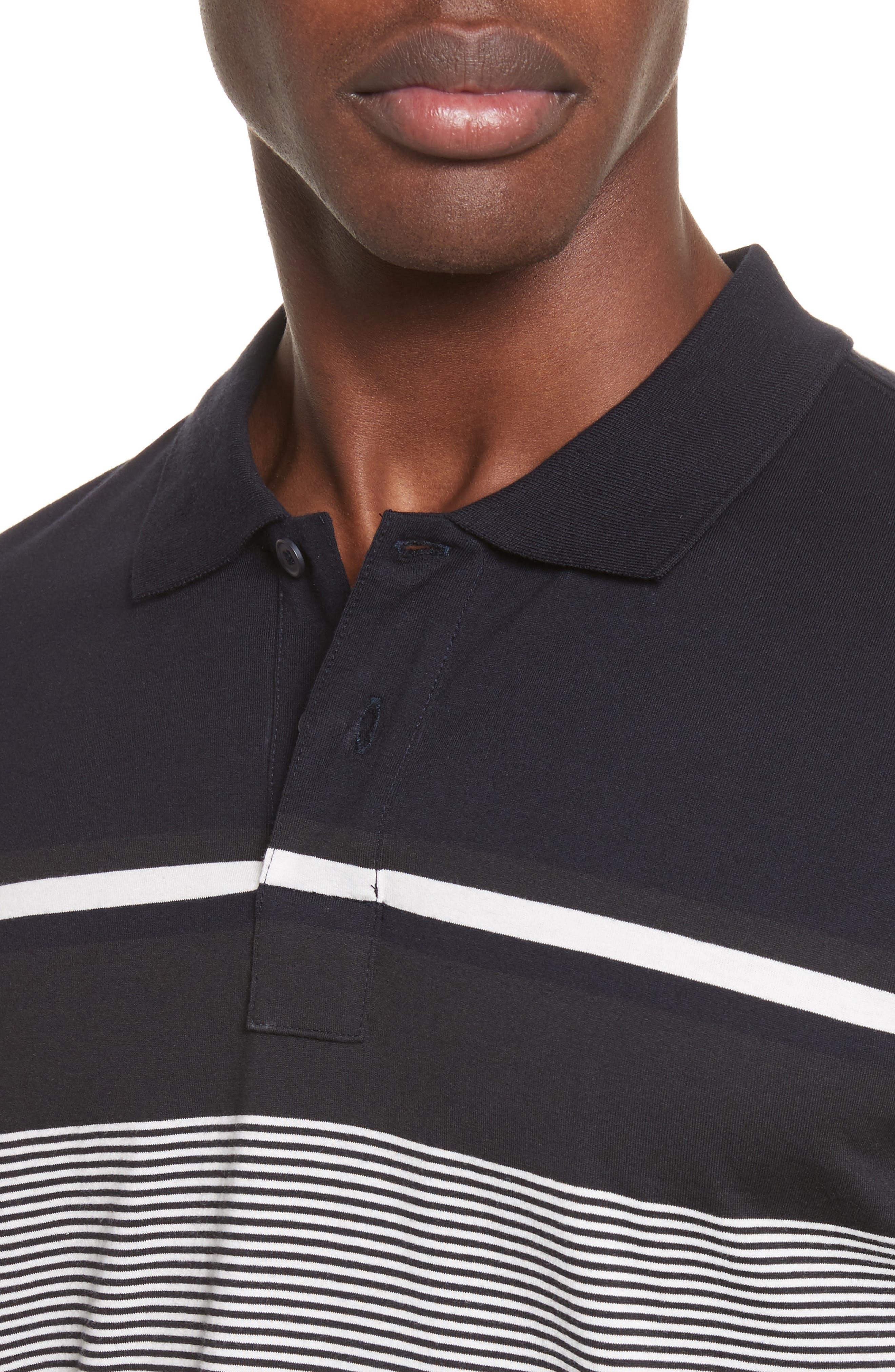 Stripe Jersey Polo,                             Alternate thumbnail 4, color,                             410
