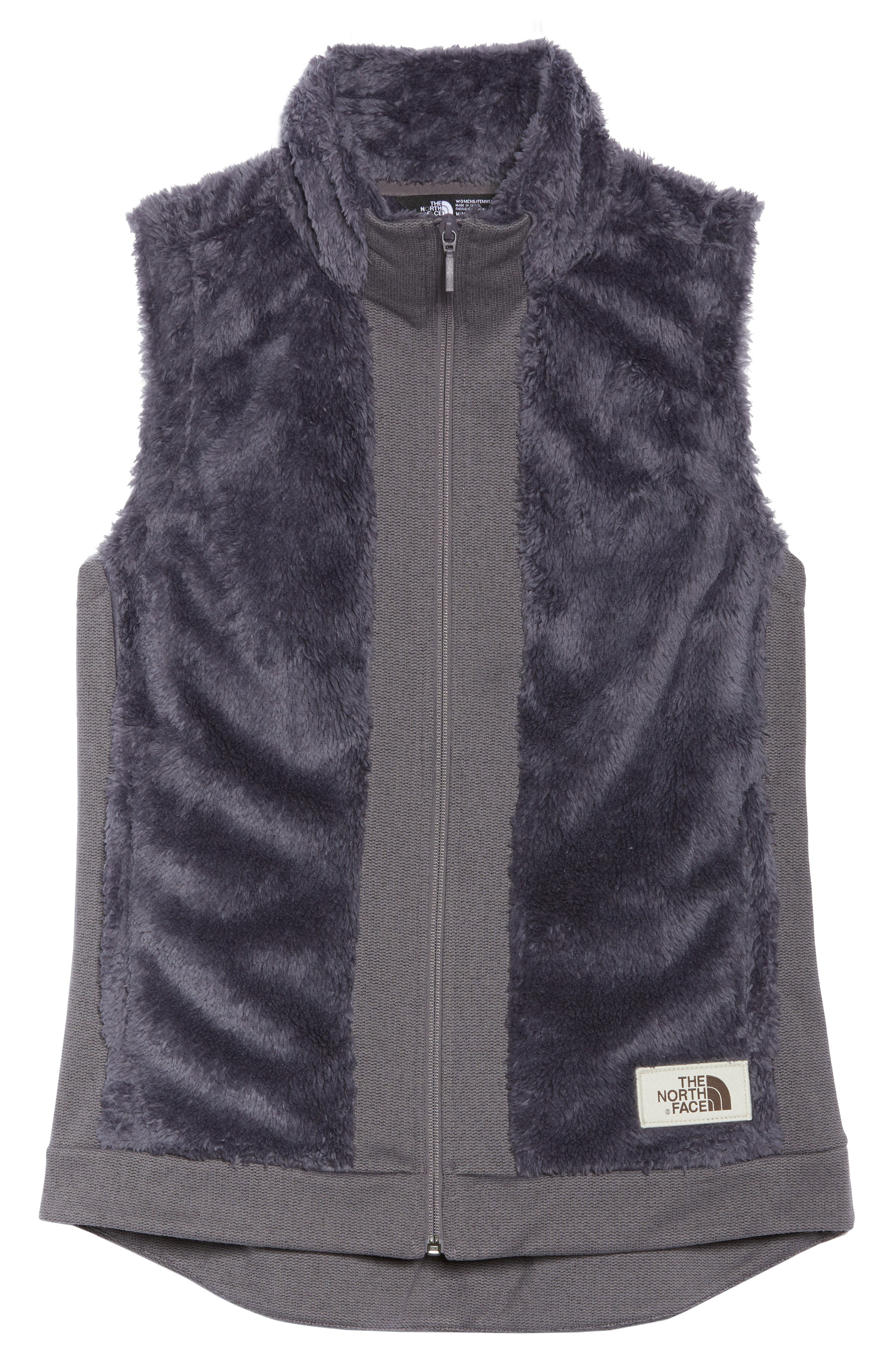 Faux Fur Vest,                             Alternate thumbnail 6, color,                             RABBIT GREY