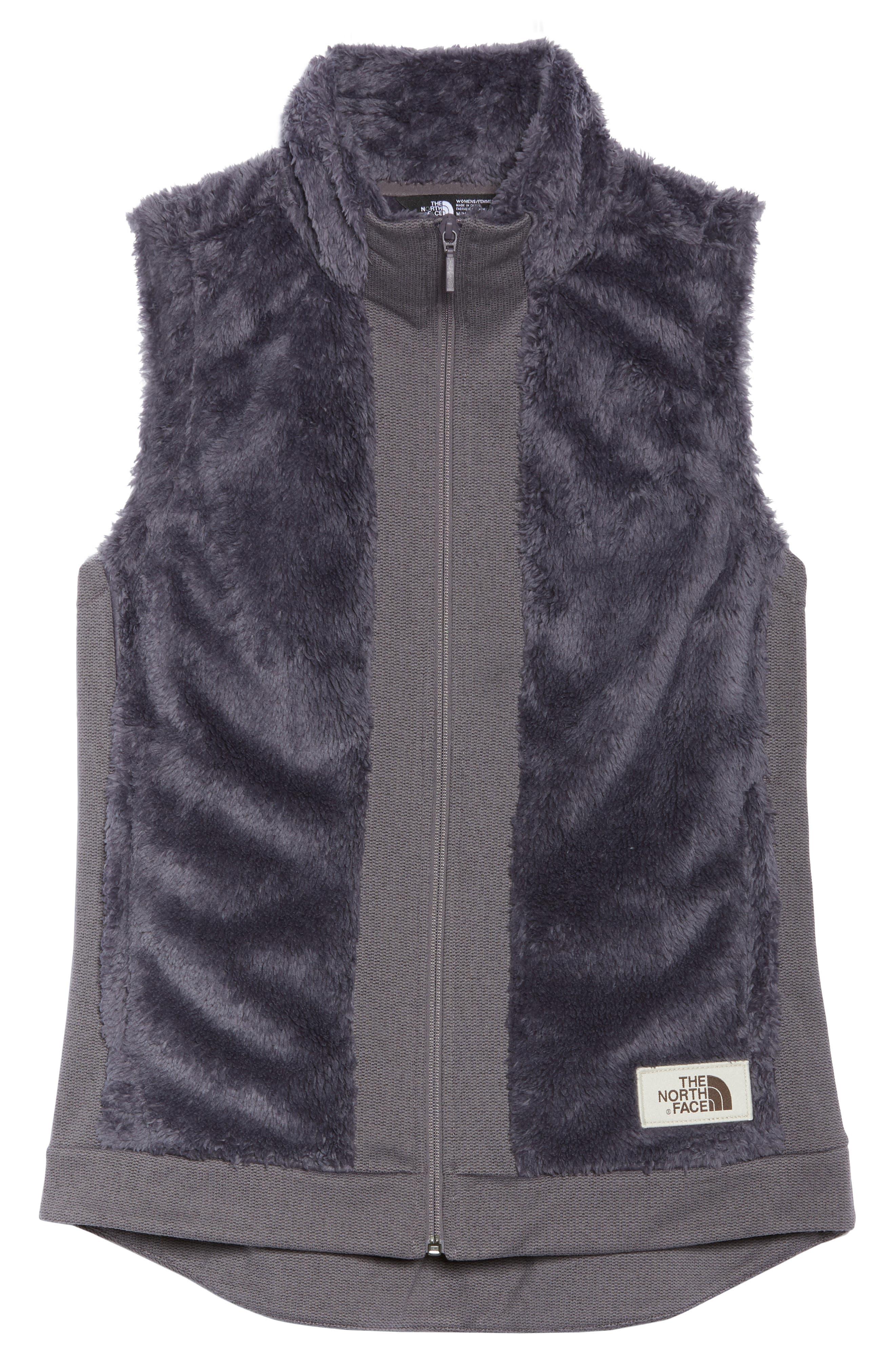 THE NORTH FACE,                             Faux Fur Vest,                             Alternate thumbnail 6, color,                             021