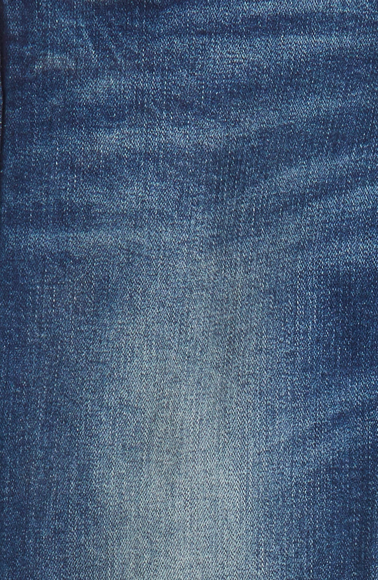 Slim Straight Leg Jeans,                             Alternate thumbnail 3, color,                             414