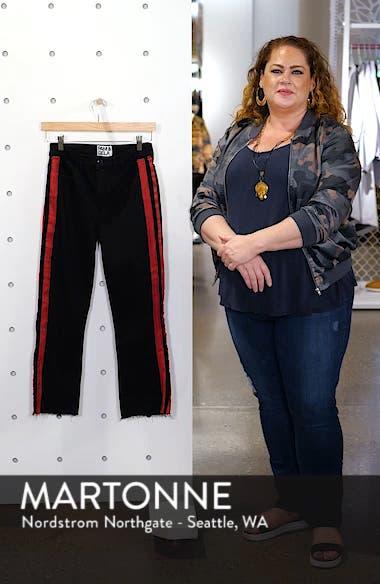 Side Stripe Crop Jeans, sales video thumbnail