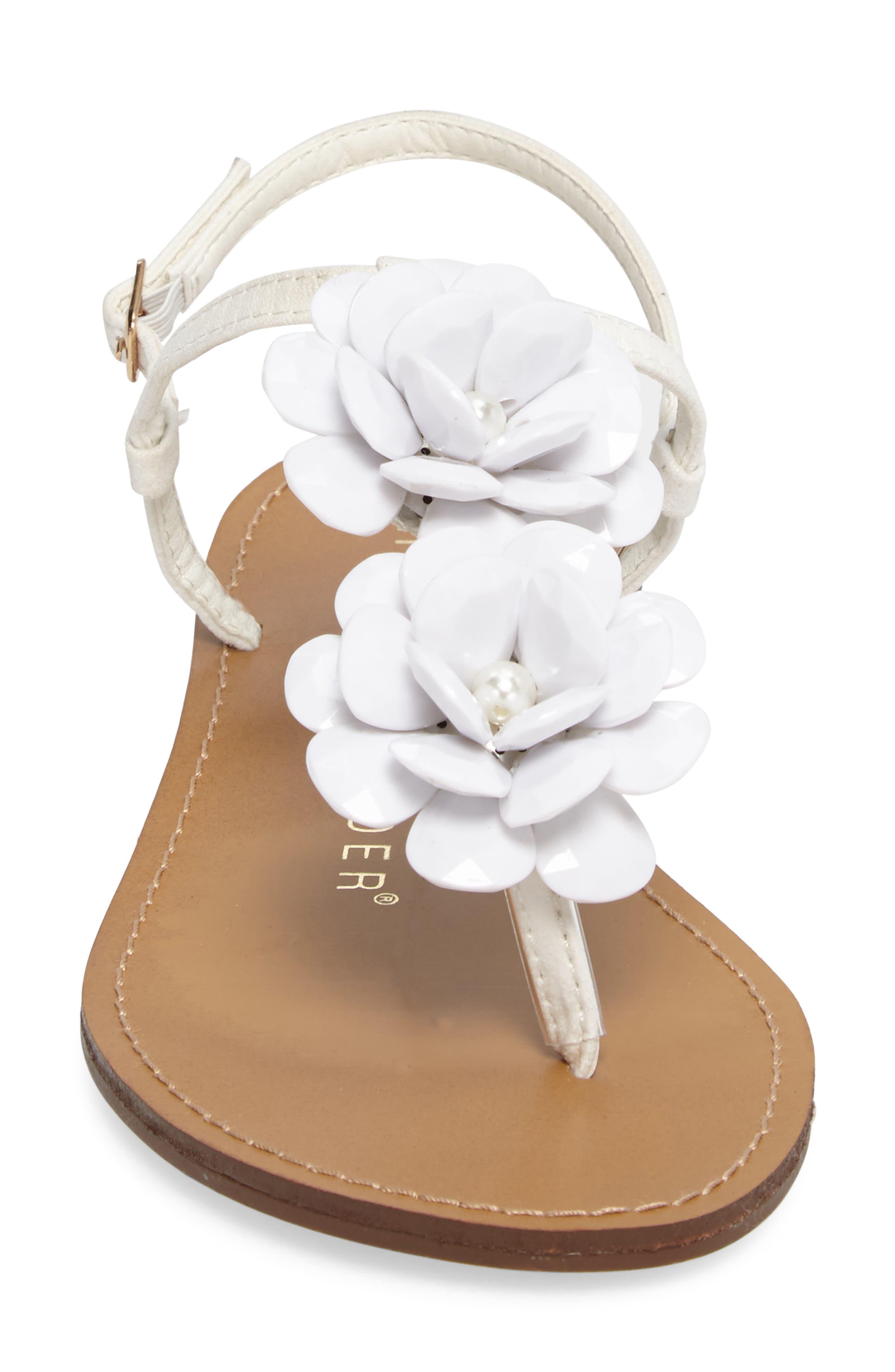 Blossom Sandal,                             Alternate thumbnail 8, color,