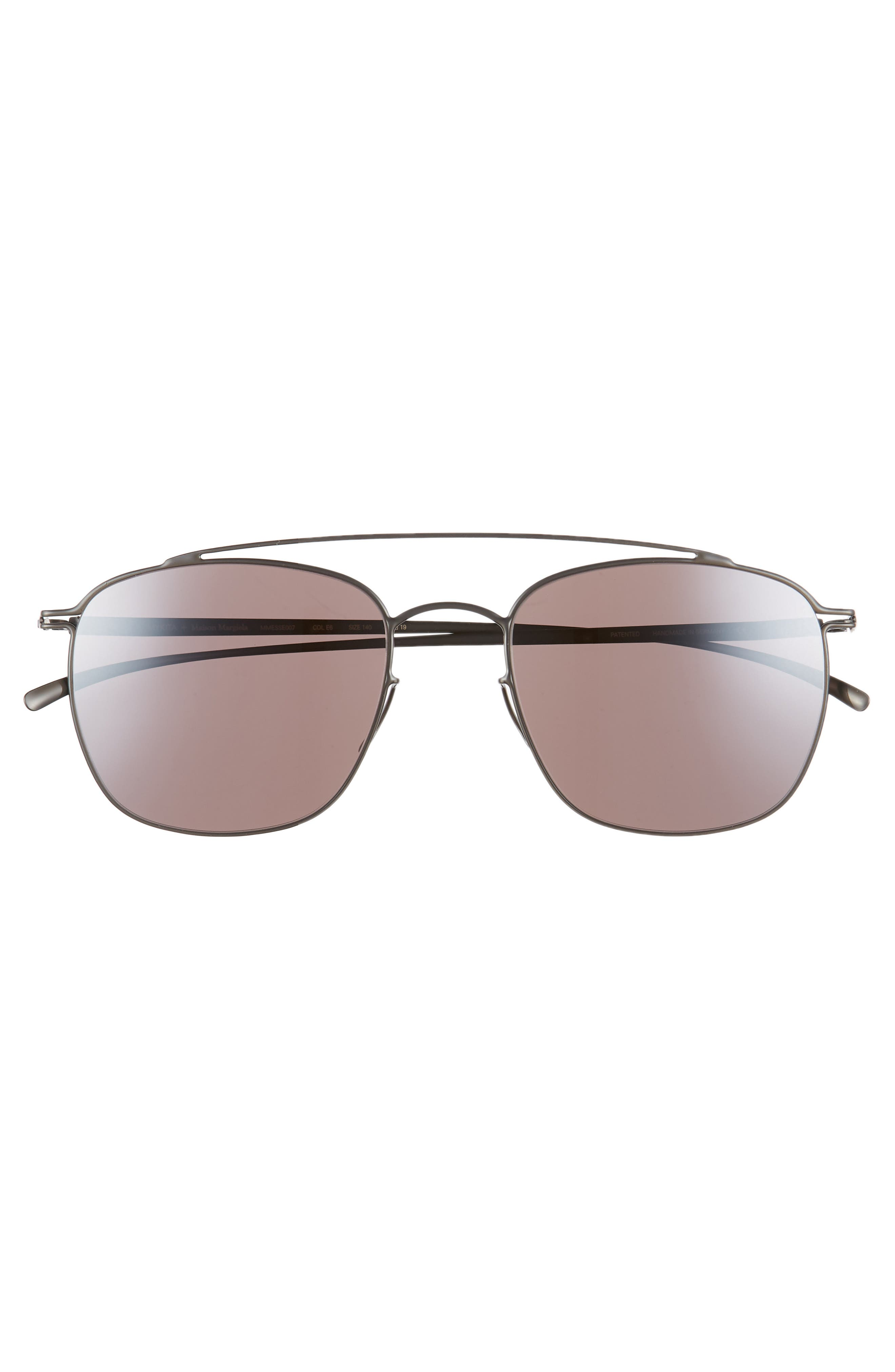 MMESSE007 51mm Aviator Sunglasses,                             Alternate thumbnail 4, color,