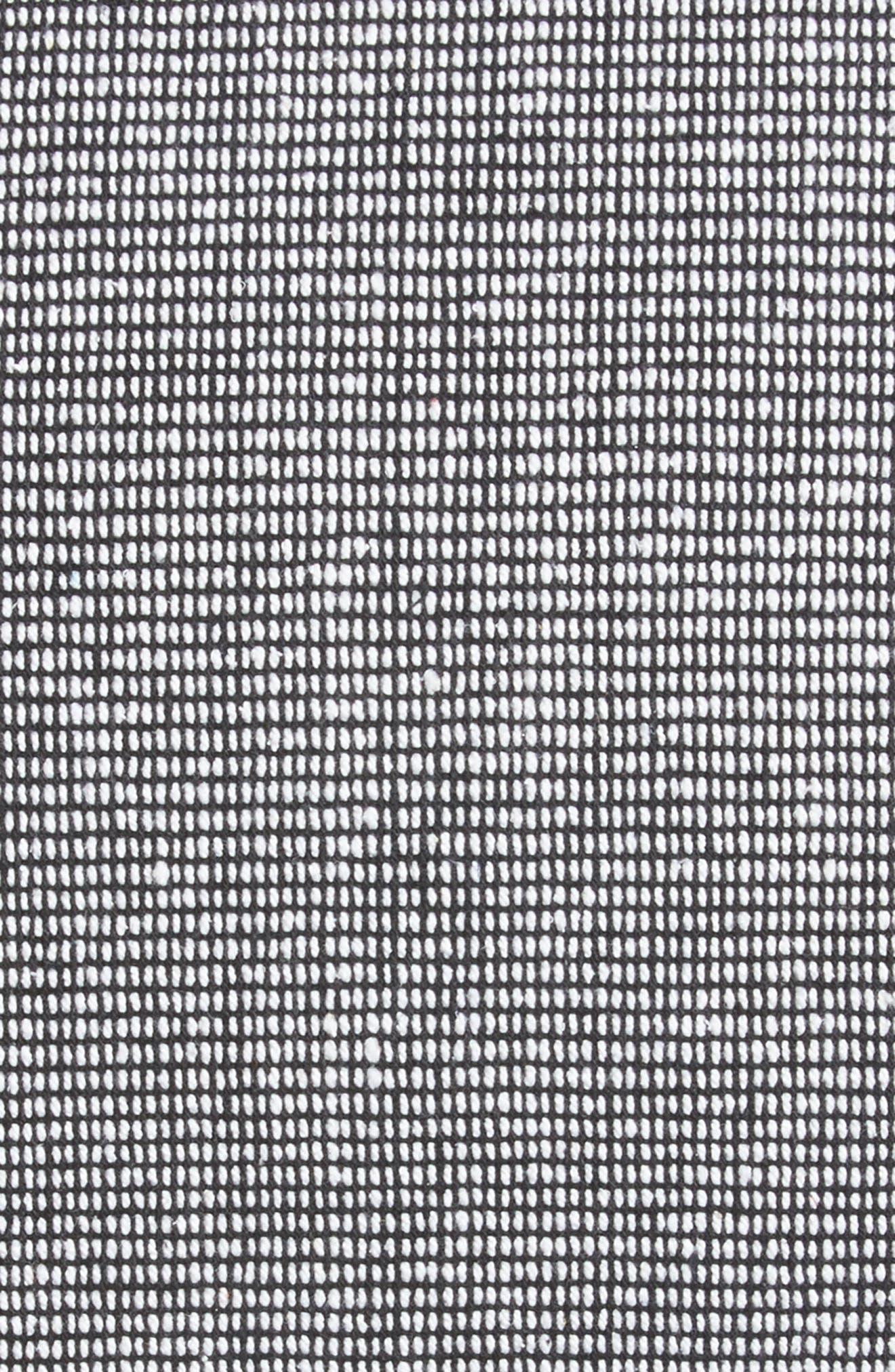 Structure Pillow,                             Alternate thumbnail 5, color,                             BLACK/ WHITE
