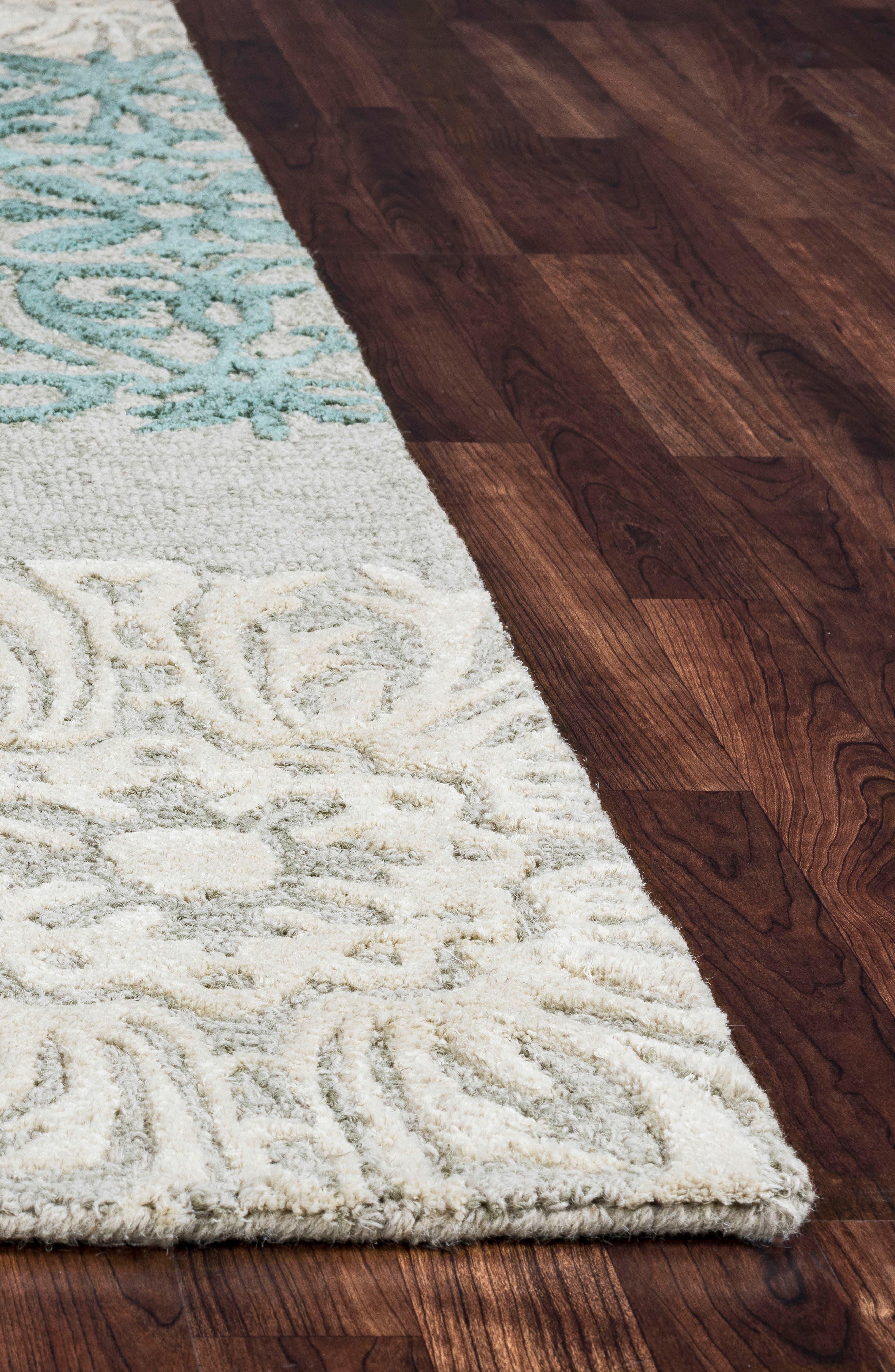 'Dimensional' Wool Area Rug,                             Alternate thumbnail 2, color,