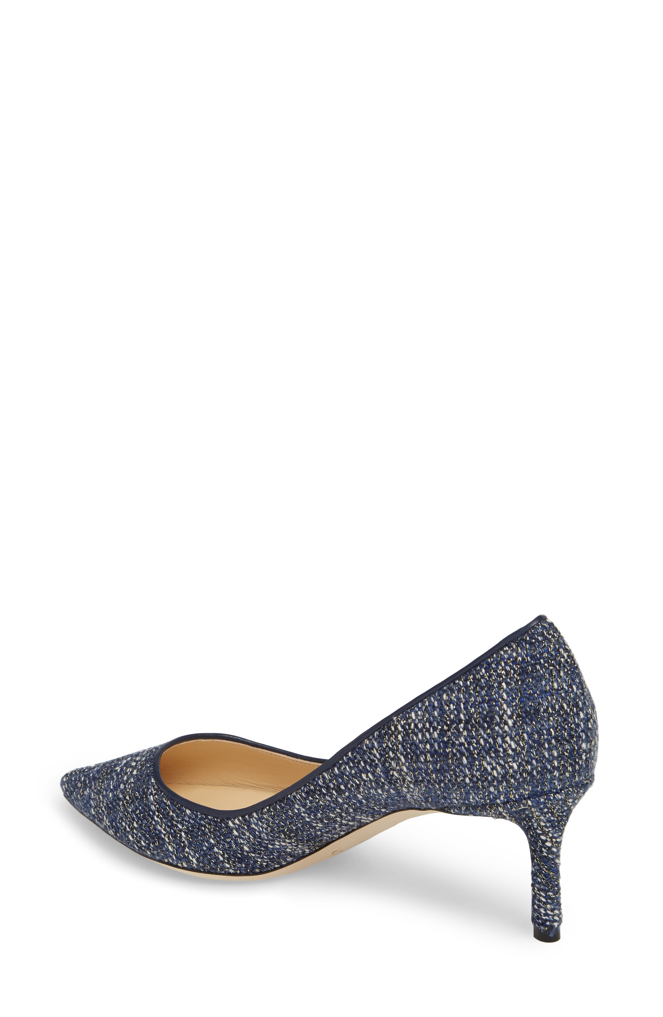 Romy Woven Pointy Toe Pump,                             Alternate thumbnail 2, color,                             410