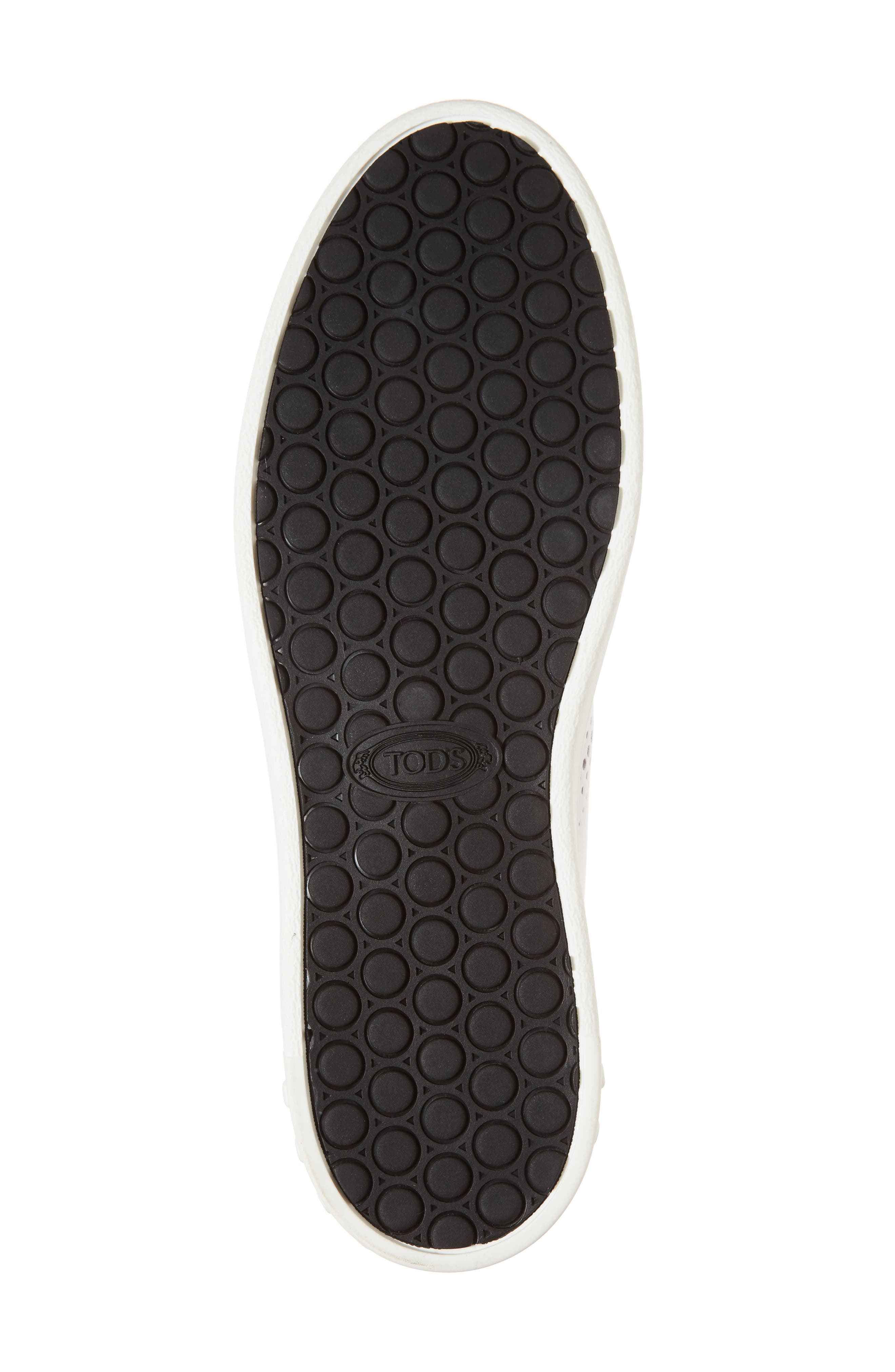 Perforated T Sneaker,                             Alternate thumbnail 6, color,                             100