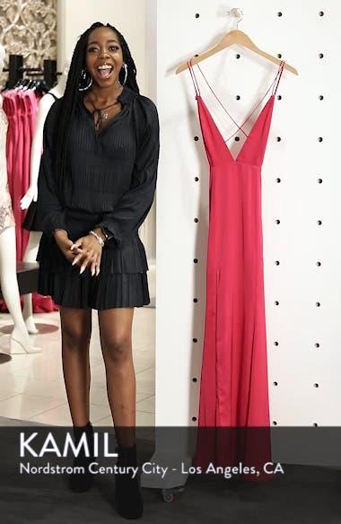 The Thora Satin Gown, sales video thumbnail