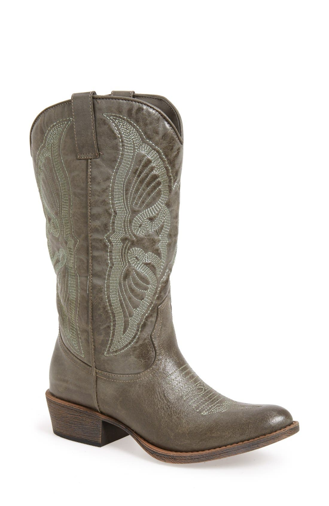Matisse 'Chance' Western Boot,                             Main thumbnail 1, color,                             035