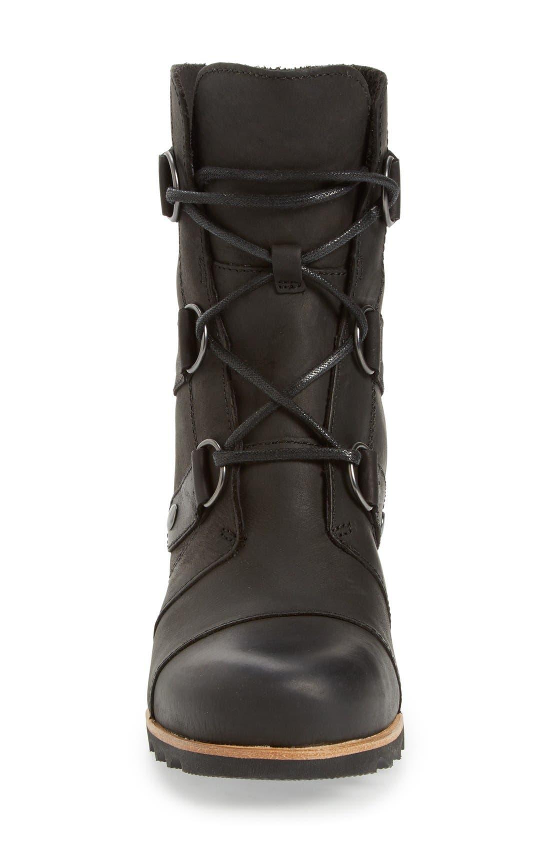 'Joan of Arctic' Waterproof Wedge Boot,                             Alternate thumbnail 36, color,