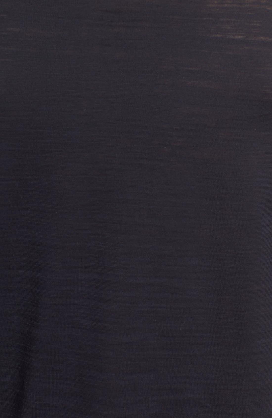 'Tenison' Slim Fit Long Sleeve T-Shirt,                             Alternate thumbnail 5, color,                             001