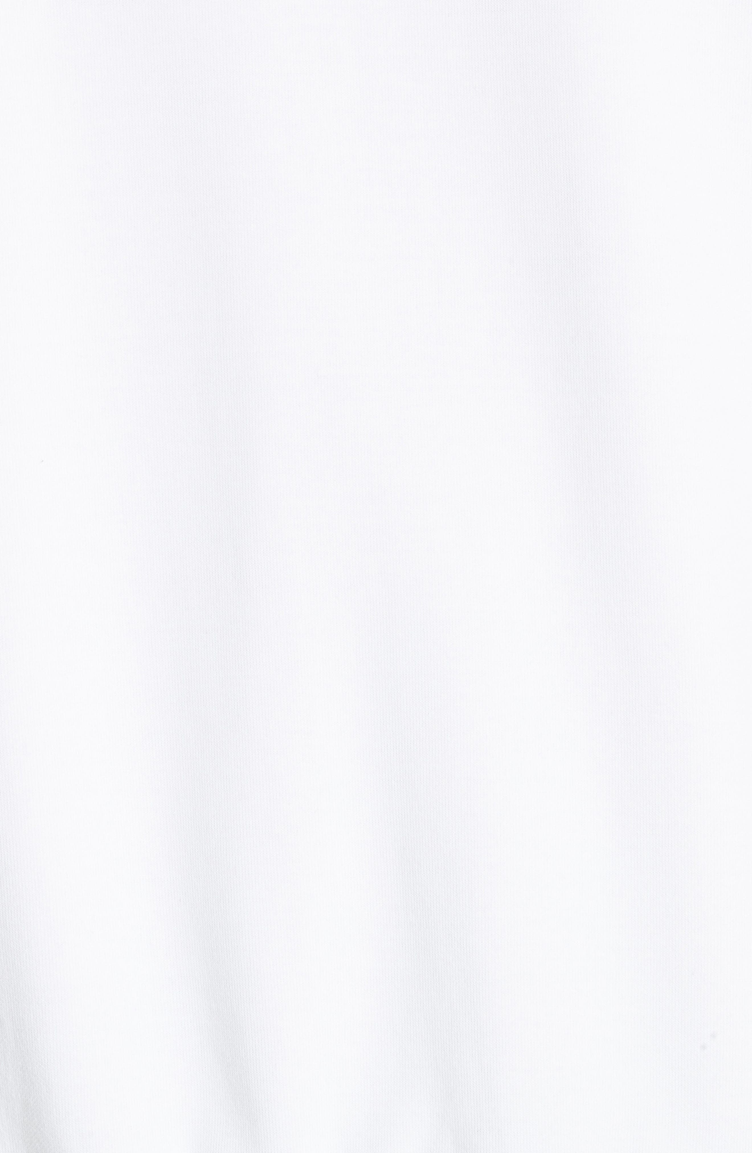 Driver Crewneck Sweatshirt,                             Alternate thumbnail 5, color,                             WHITE