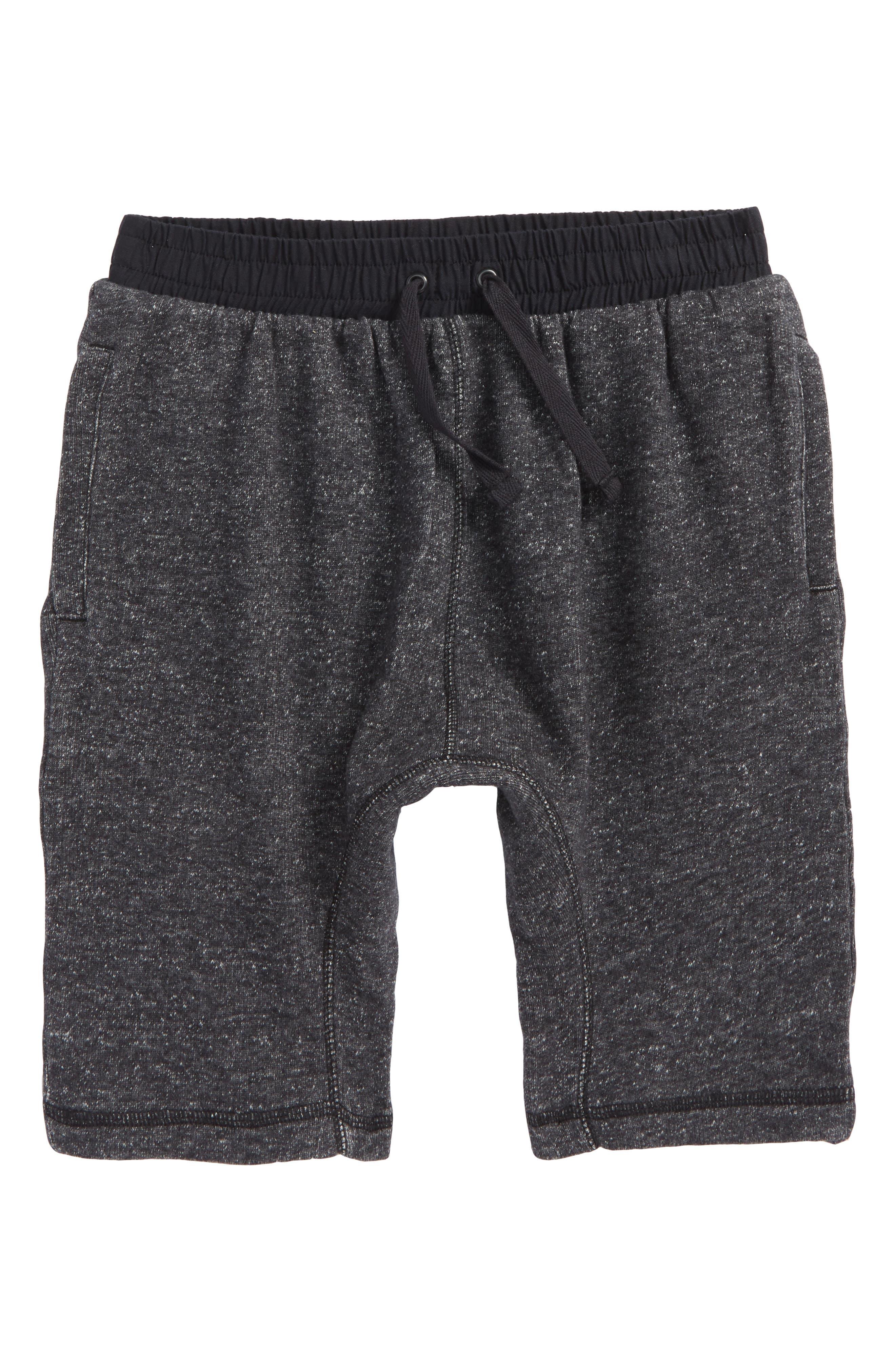 Knit Jogger Shorts,                             Main thumbnail 1, color,                             001