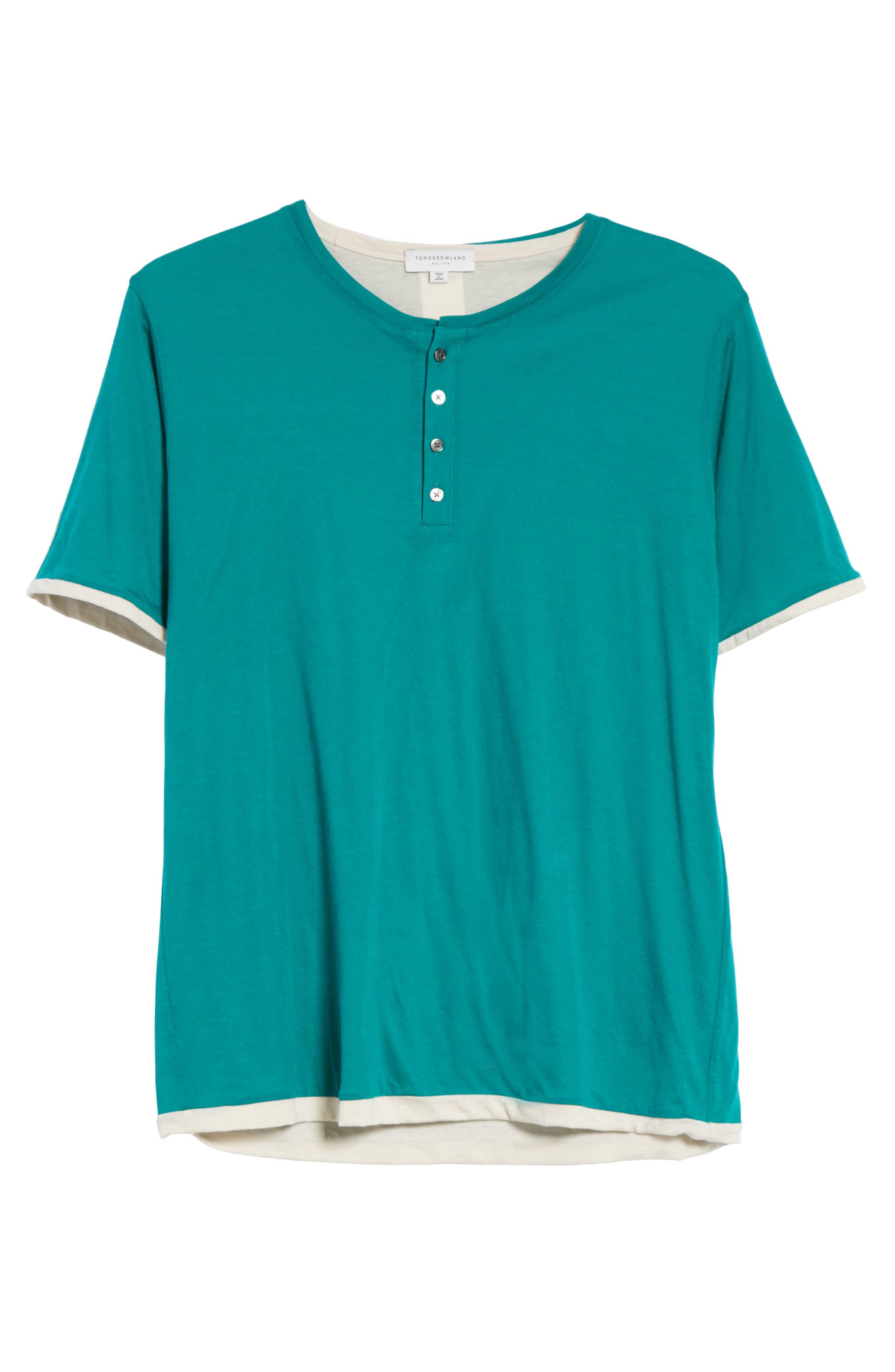 Henley T-Shirt,                             Alternate thumbnail 6, color,                             300