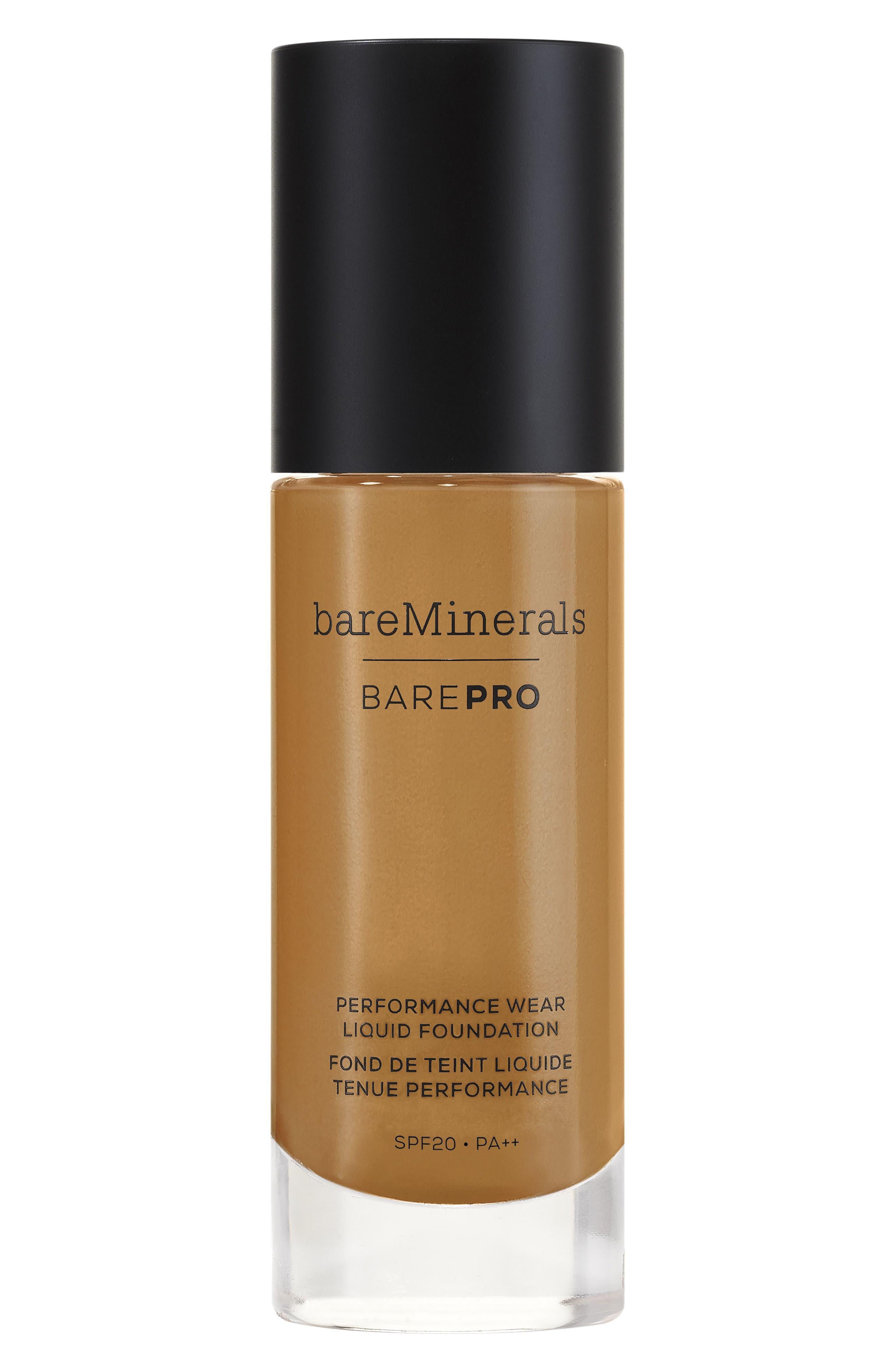 BarePro<sup>®</sup> Performance Wear Liquid Foundation,                             Alternate thumbnail 3, color,                             25 HAZELNUT
