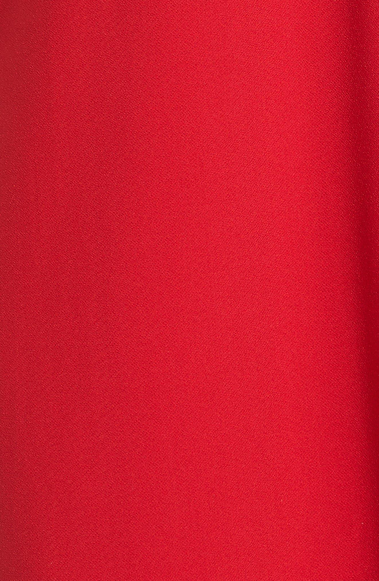 Cold Shoulder Shift Dress,                             Alternate thumbnail 5, color,                             600