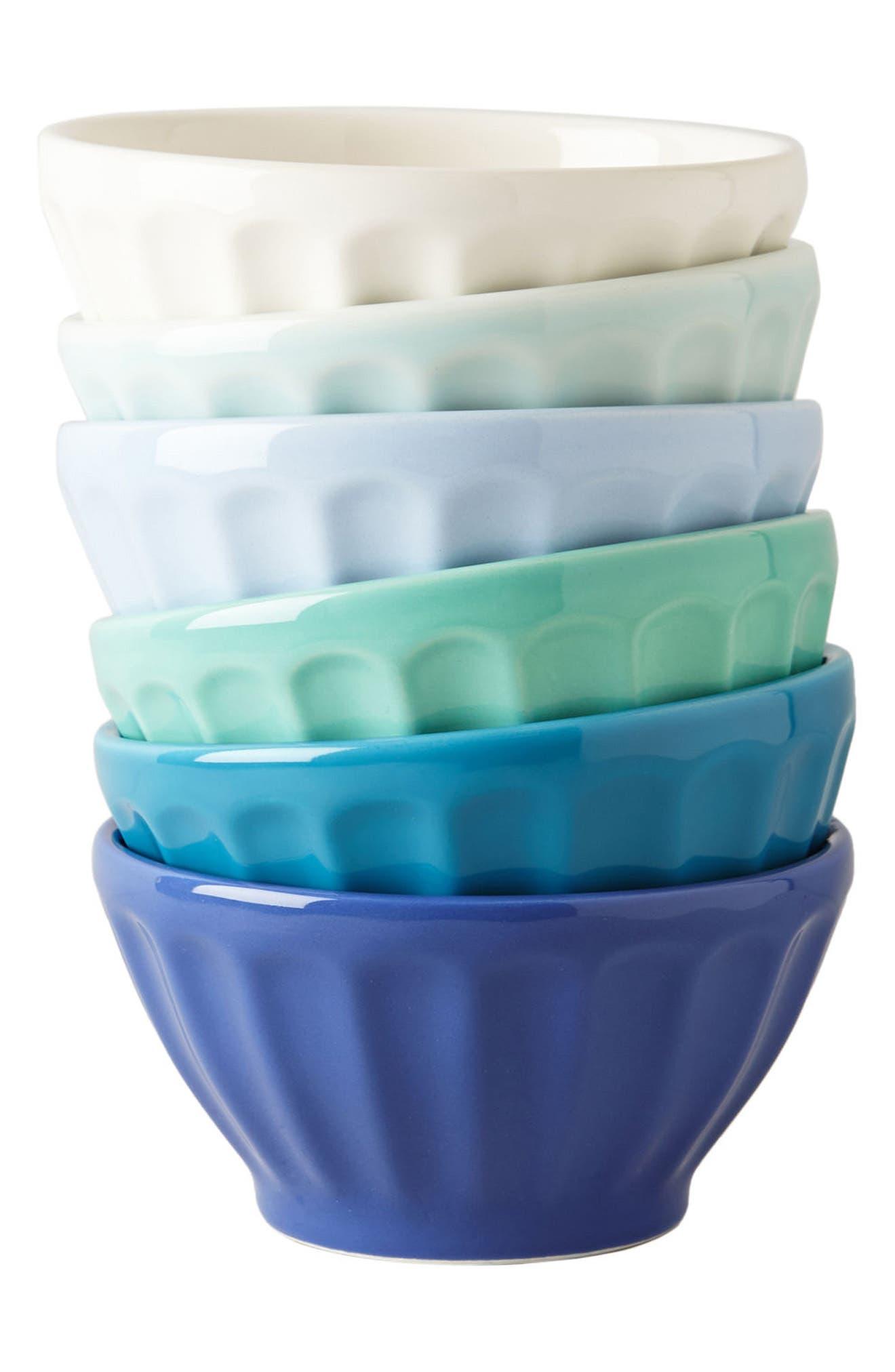 Set of 6 Latte Bowls,                             Alternate thumbnail 2, color,                             401