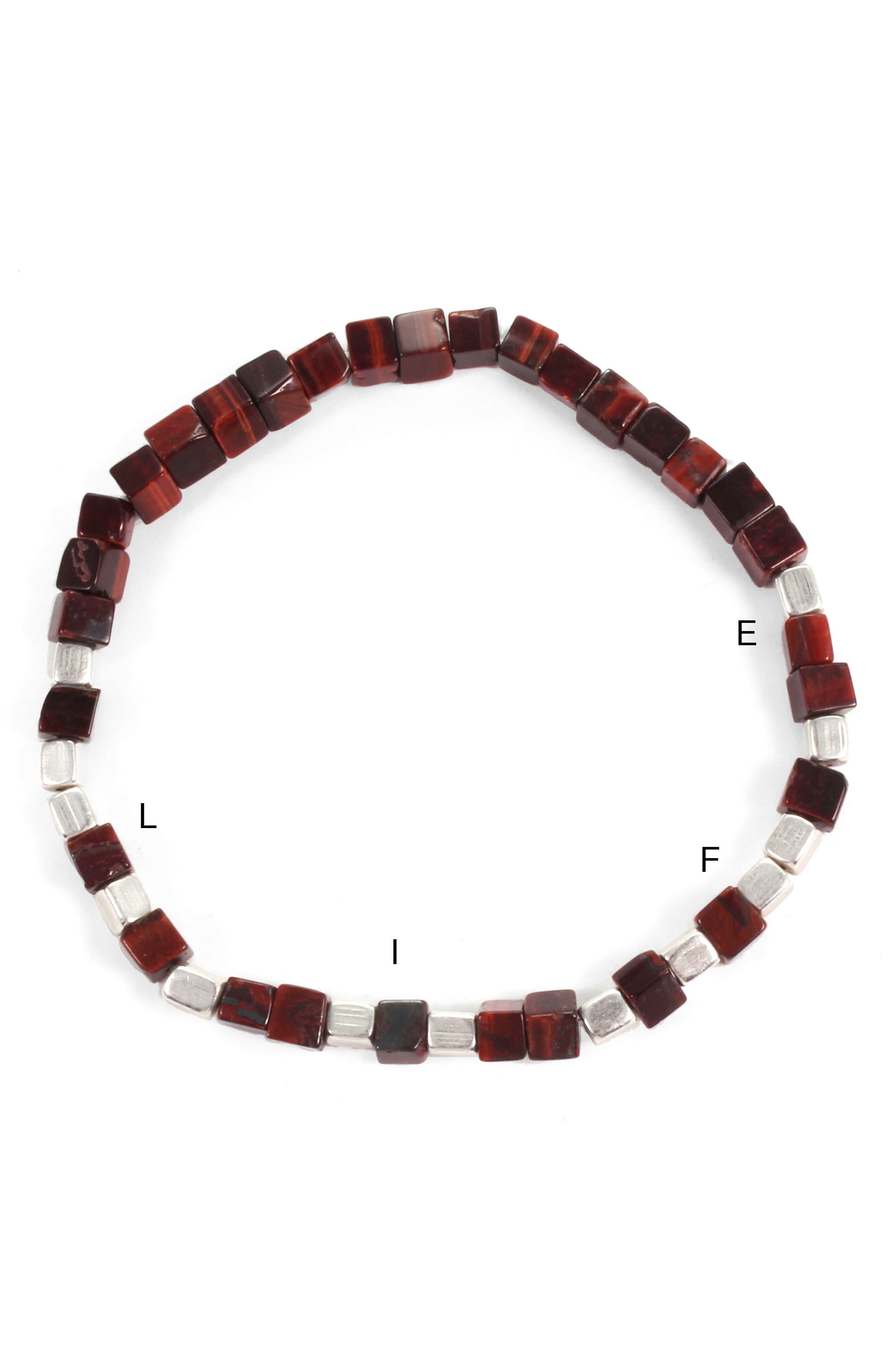 Life Morse Beaded Bracelet,                             Alternate thumbnail 2, color,                             240
