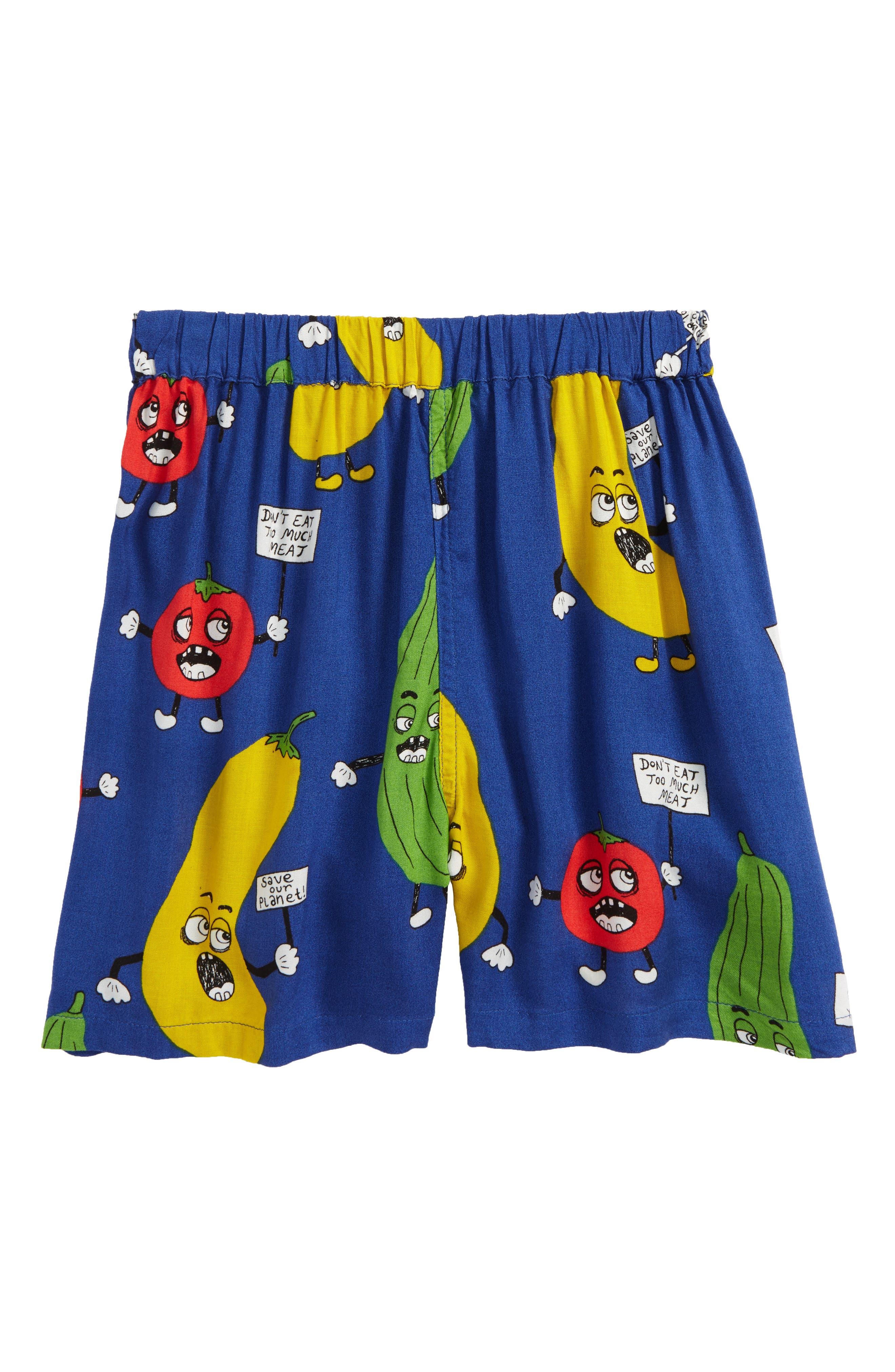 Veggie Woven Shorts,                             Main thumbnail 1, color,                             400