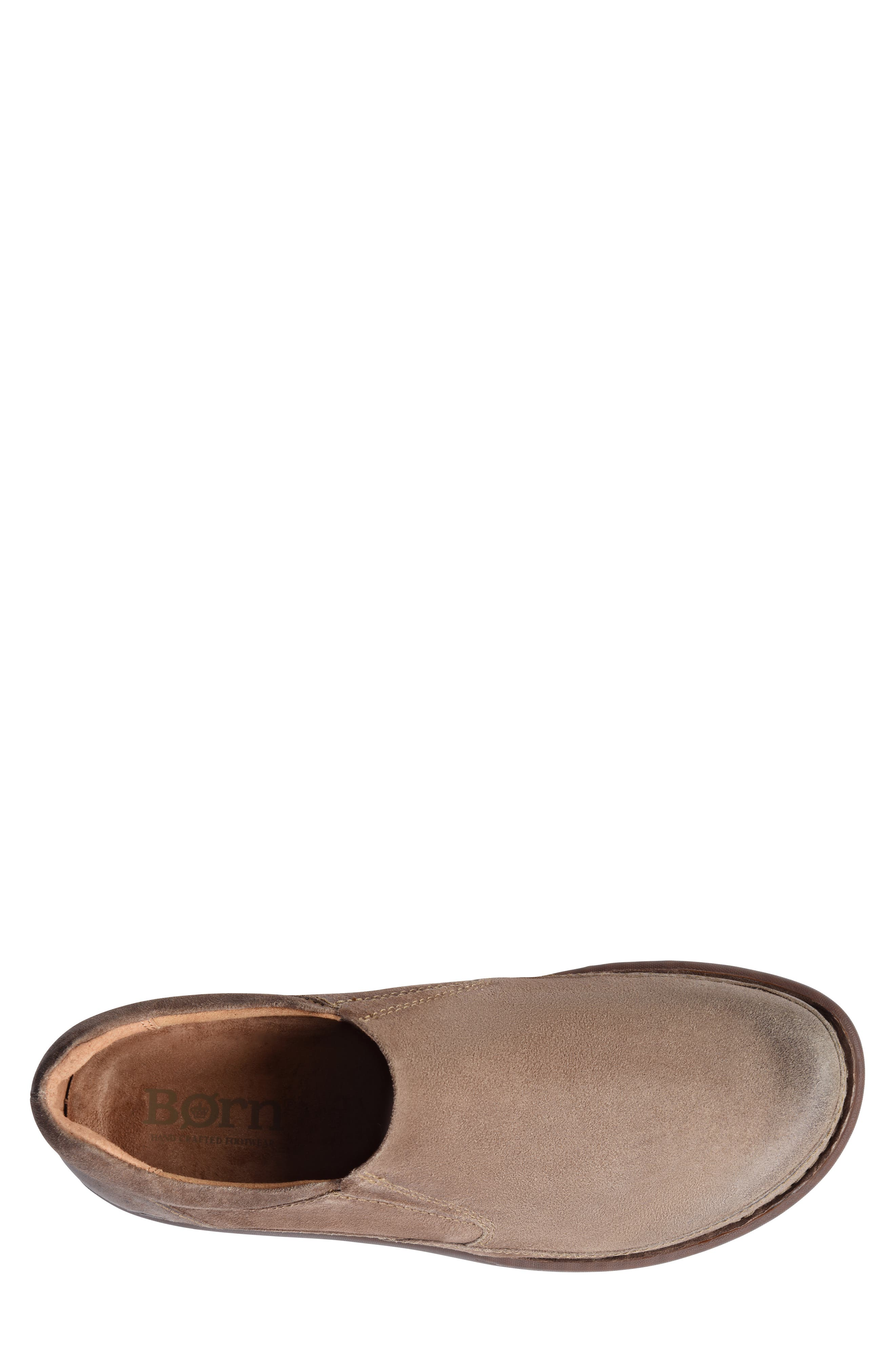 Nigel Slip-On,                             Alternate thumbnail 5, color,                             TAUPE LEATHER