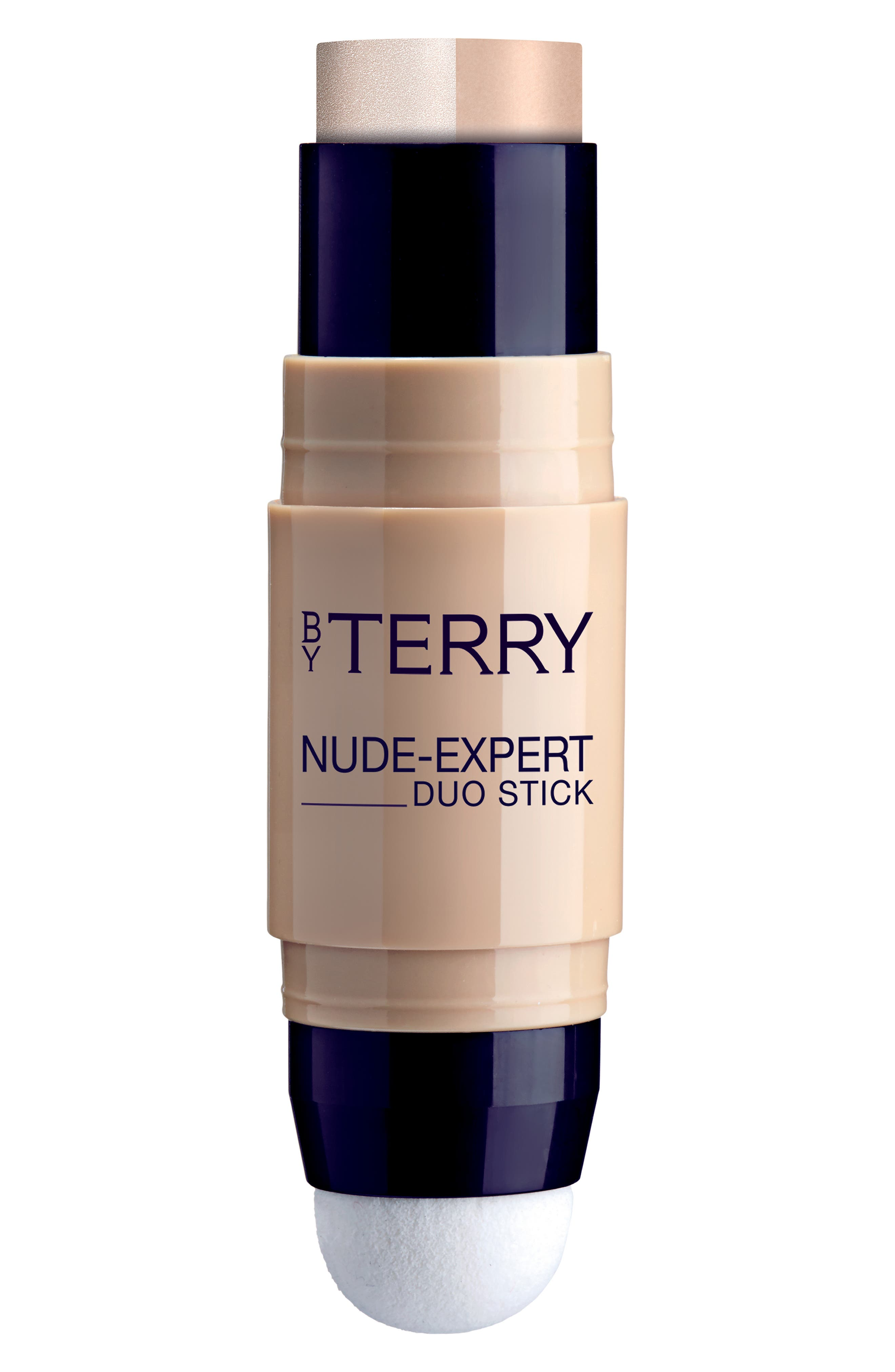 BY TERRY Nude-Expert Foundation & Highlighter Stick - 4- Rosy Beige