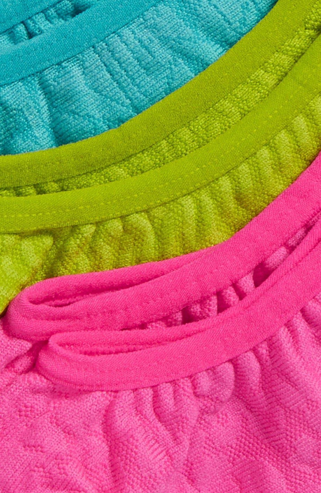 3-Pack Microfiber Tab Performance Socks,                             Alternate thumbnail 8, color,