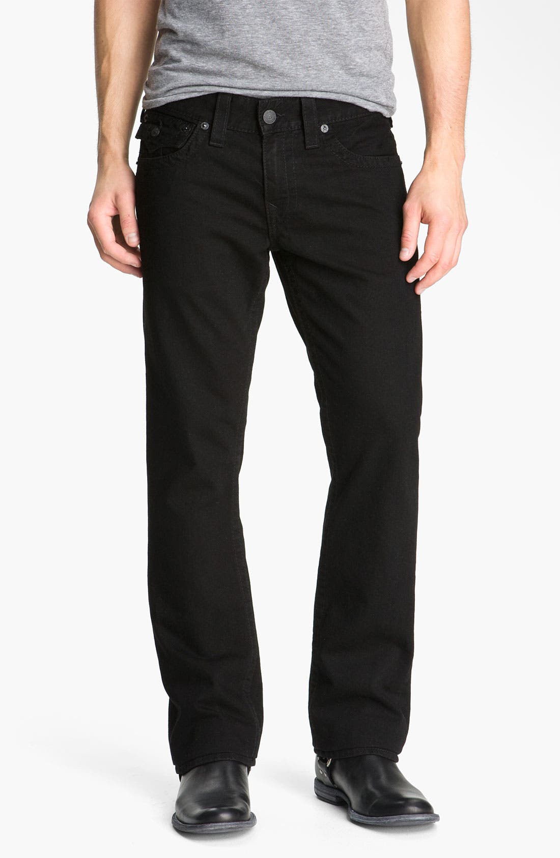 'Ricky' Relaxed Fit Jeans,                             Alternate thumbnail 8, color,