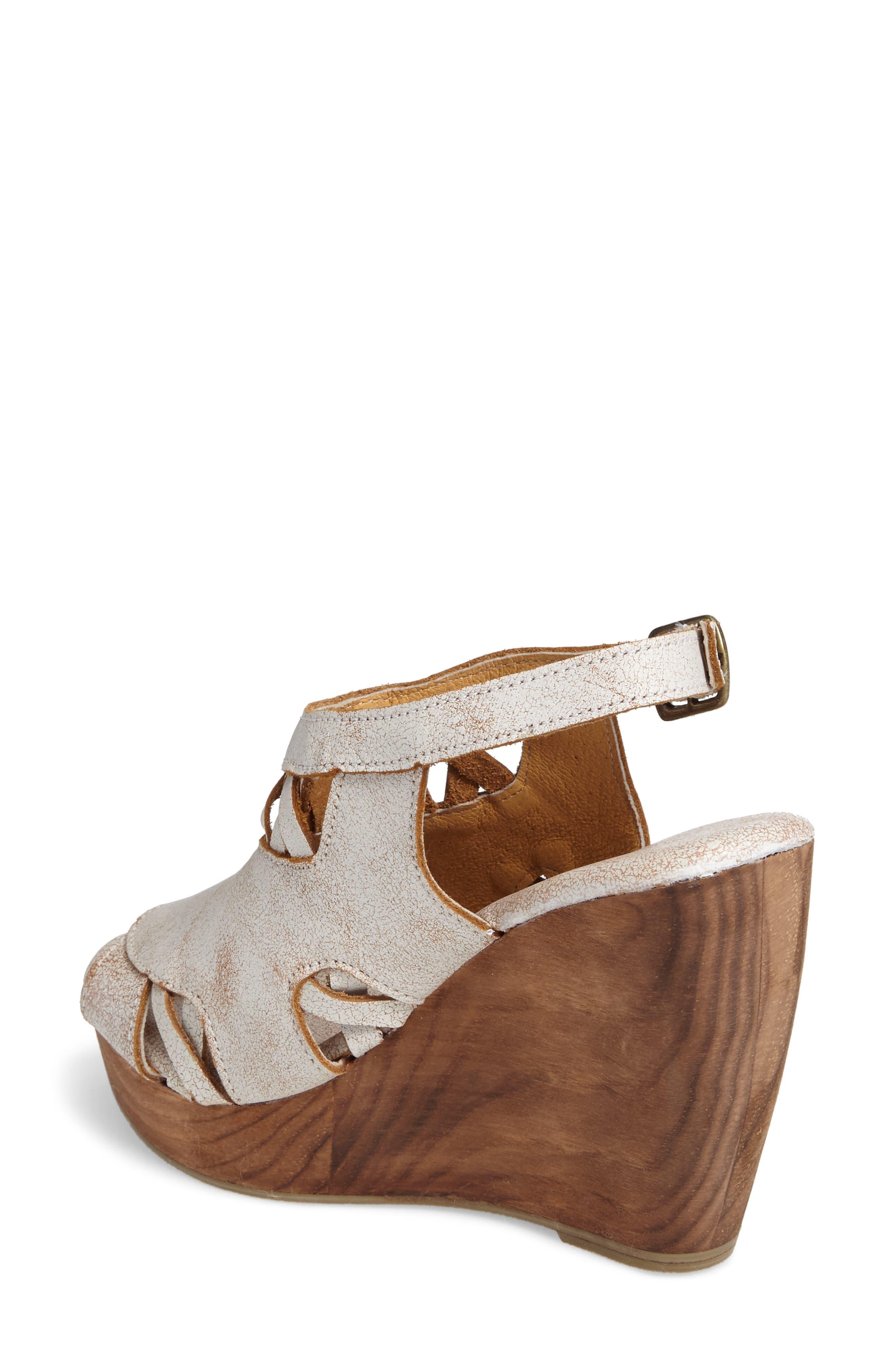 Sloane Platform Wedge Sandal,                             Alternate thumbnail 4, color,
