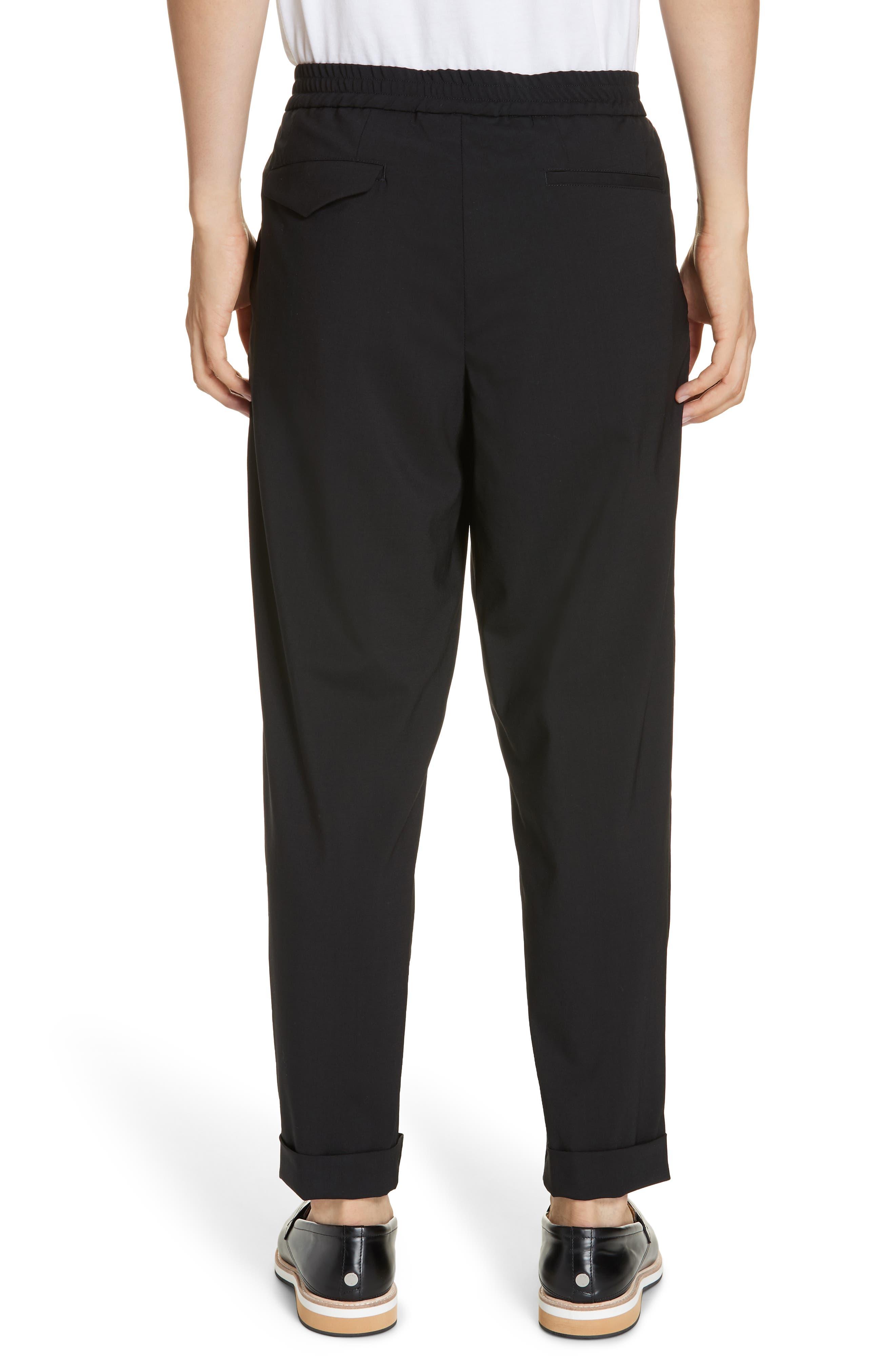 Barena Venzia Tropical Wool Pants,                             Alternate thumbnail 2, color,                             001