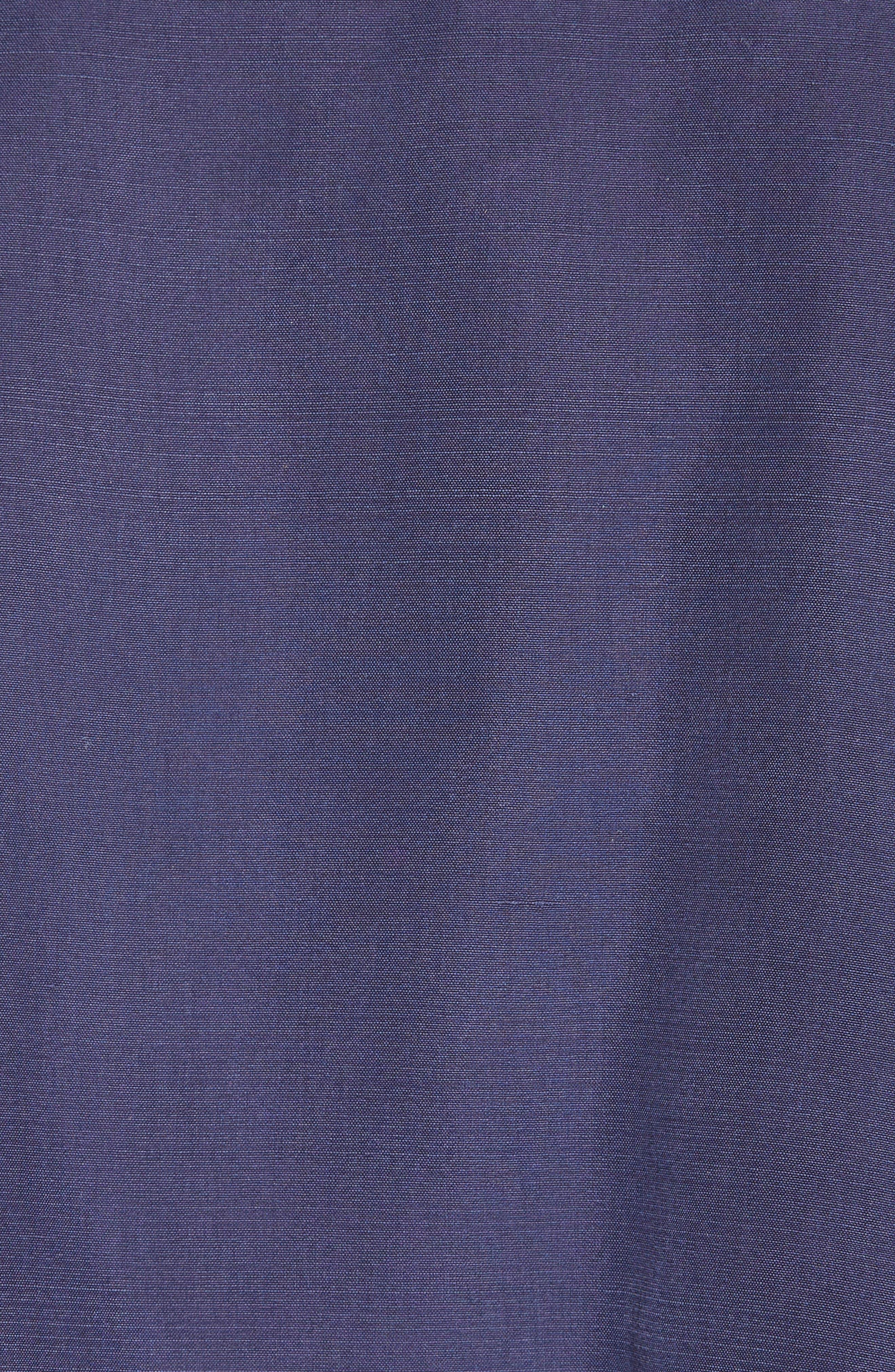 Sanbridge Silk Wrap Coat,                             Alternate thumbnail 6, color,                             410