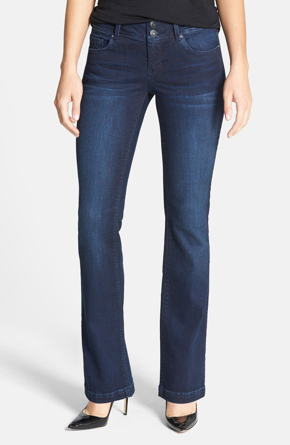 Curvy Bootcut Jeans, Main, color, 432