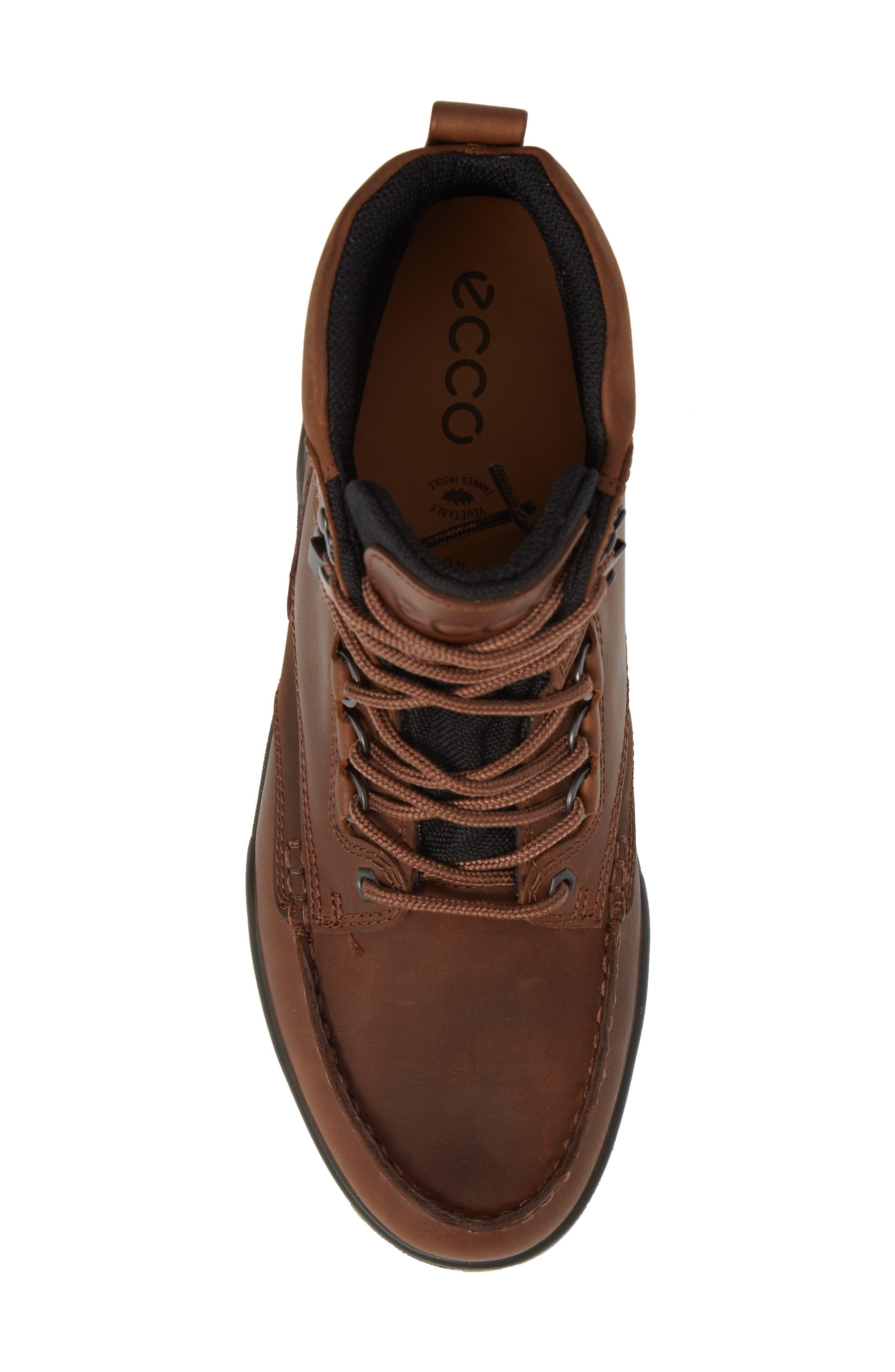 ECCO,                             Track II High Waterproof Boot,                             Alternate thumbnail 5, color,                             Bison