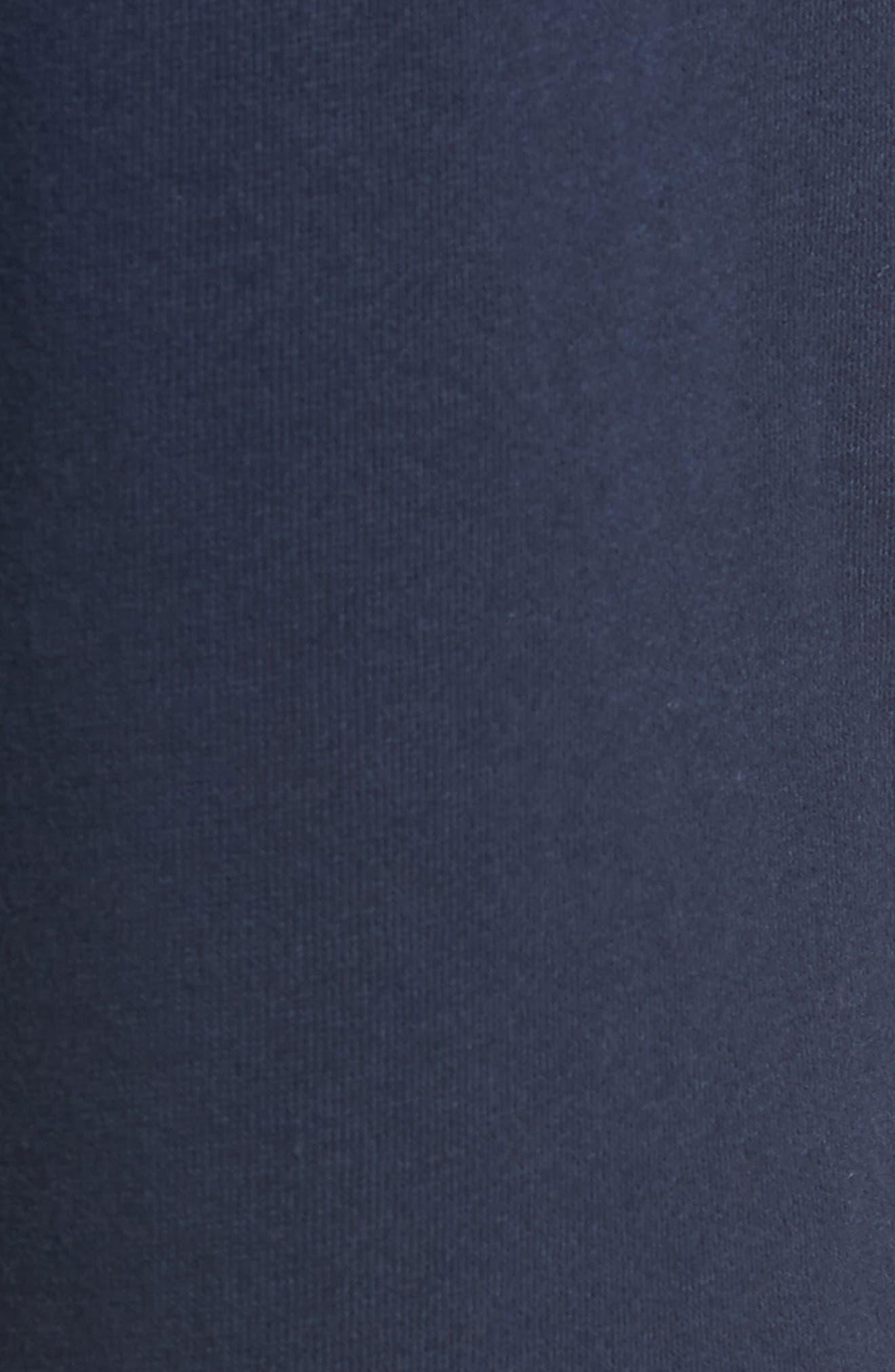 Crossed Sticks Fleece Sweatpants,                             Alternate thumbnail 5, color,                             401