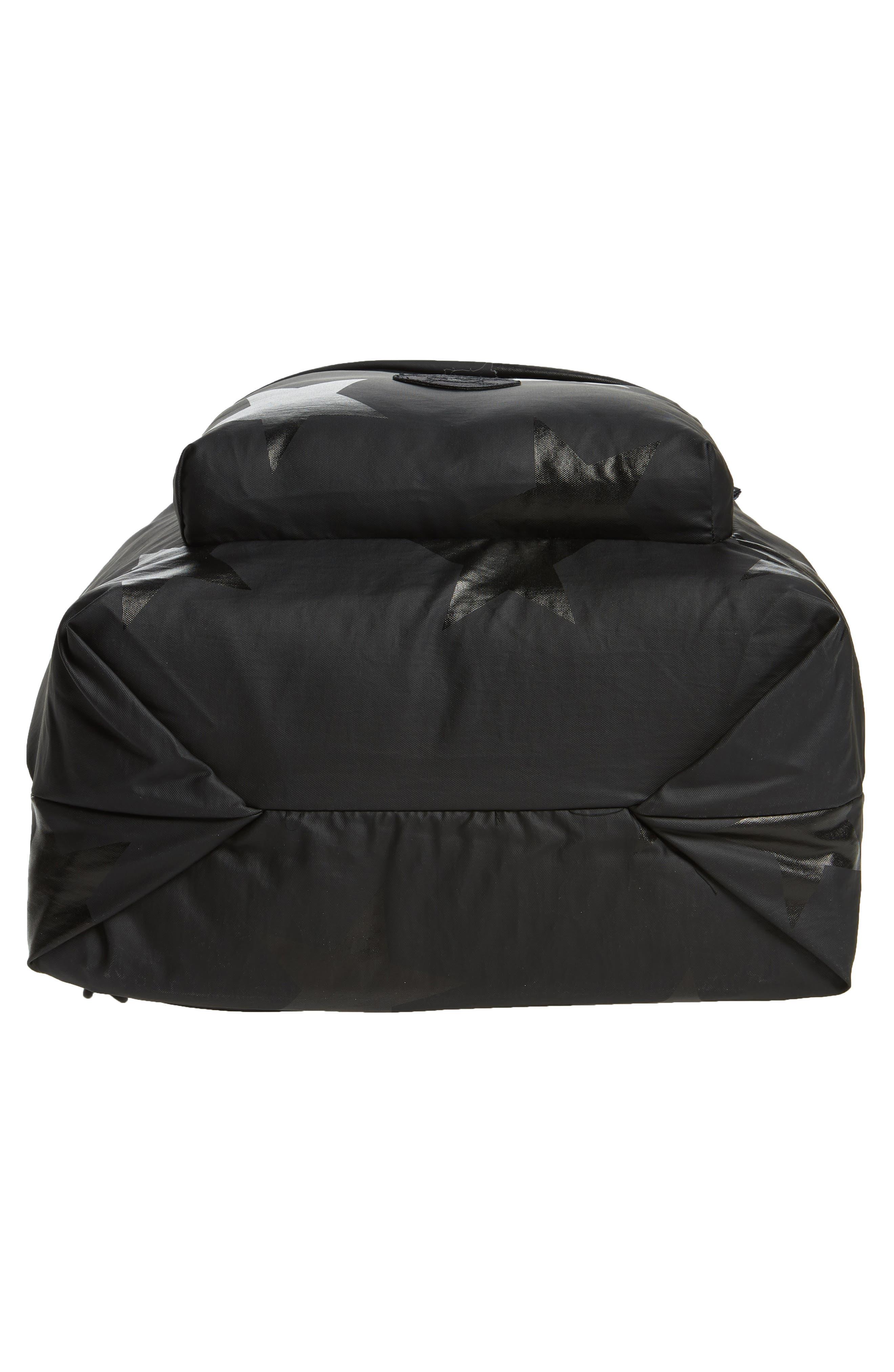 +one duo Nylon Convertible Diaper Bag,                             Alternate thumbnail 6, color,                             BLACK STAR