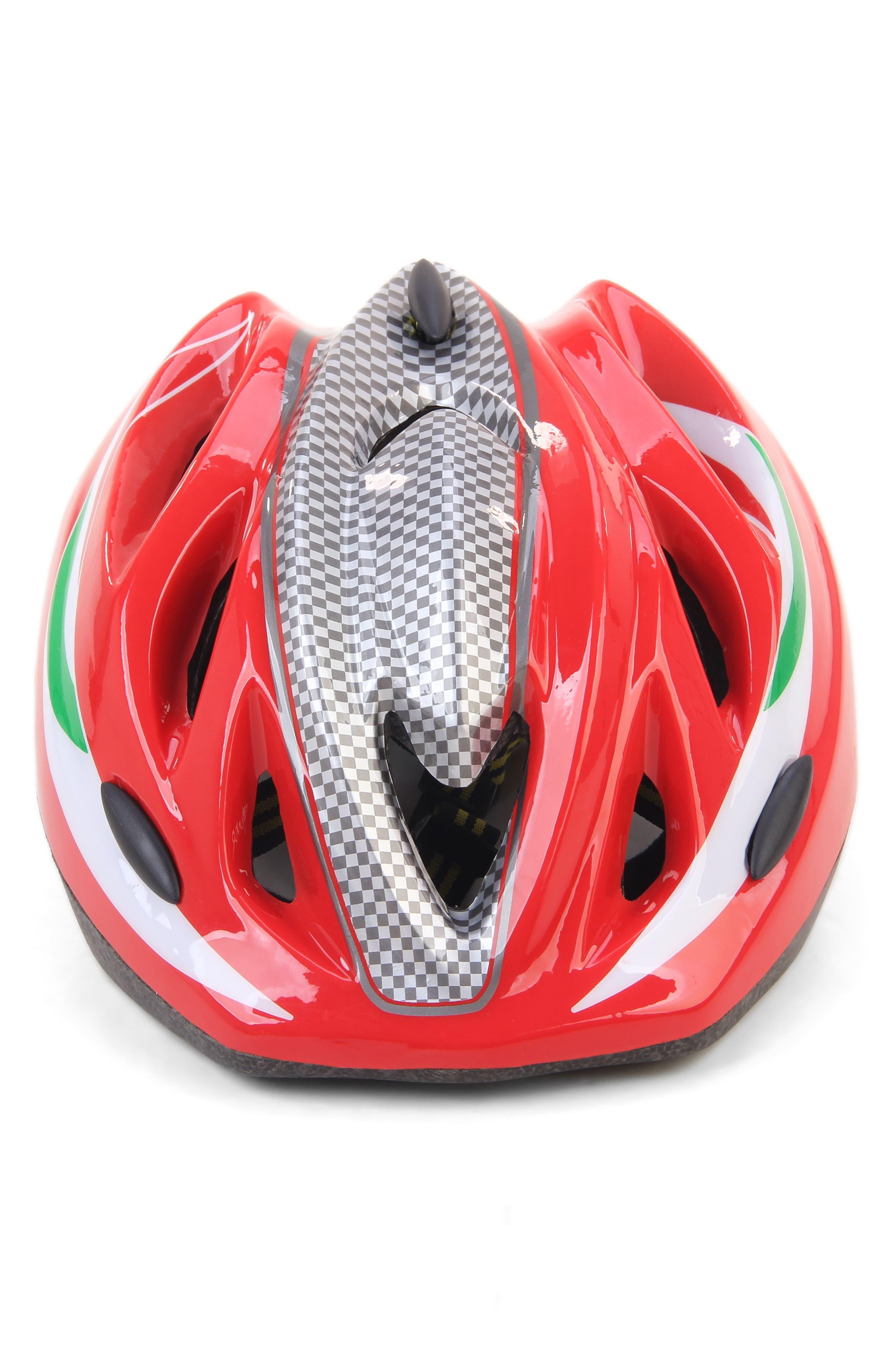 Kid's Helmet,                             Alternate thumbnail 3, color,                             RED