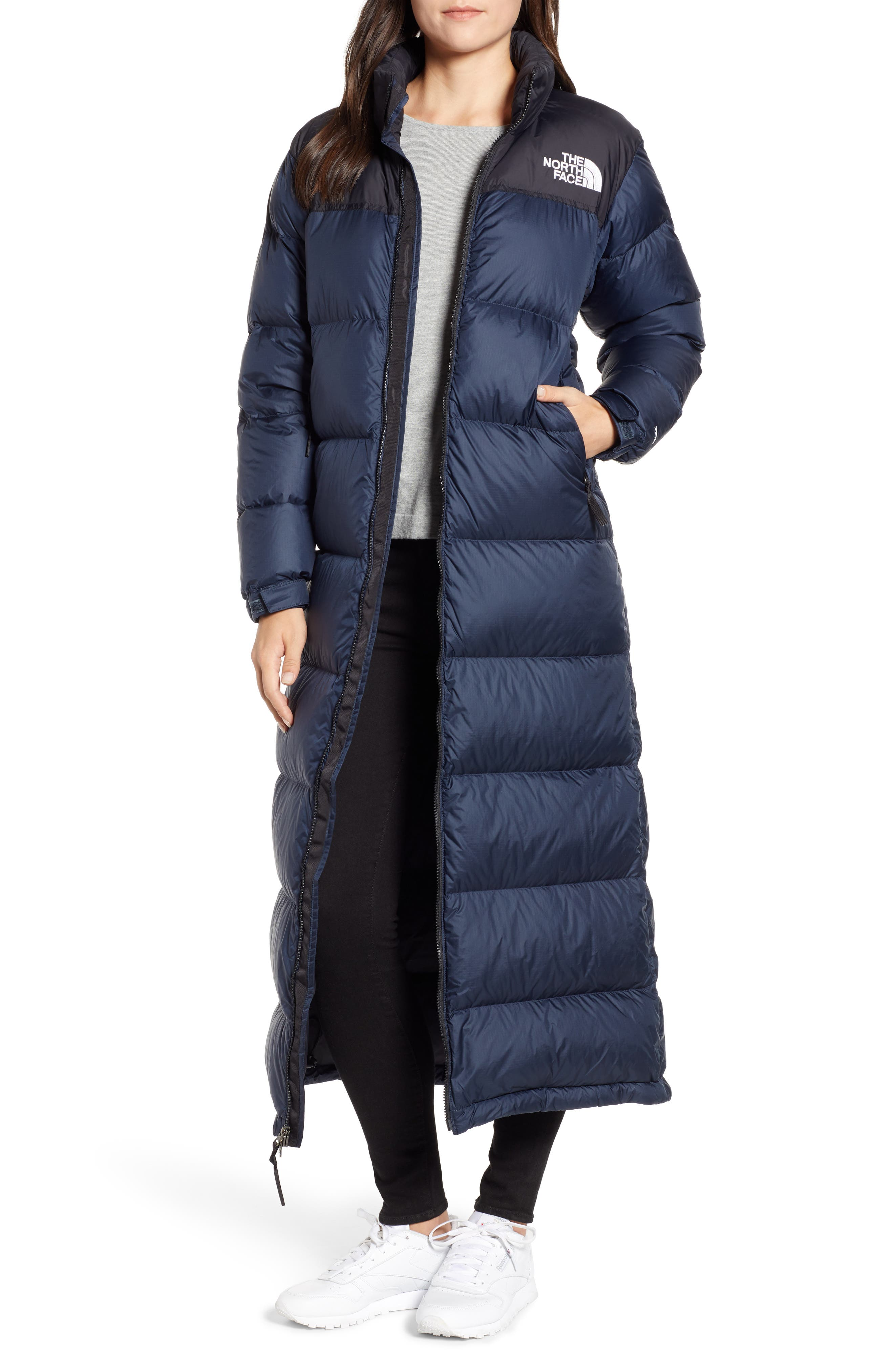 The North Face Nuptse Down Coat, Blue