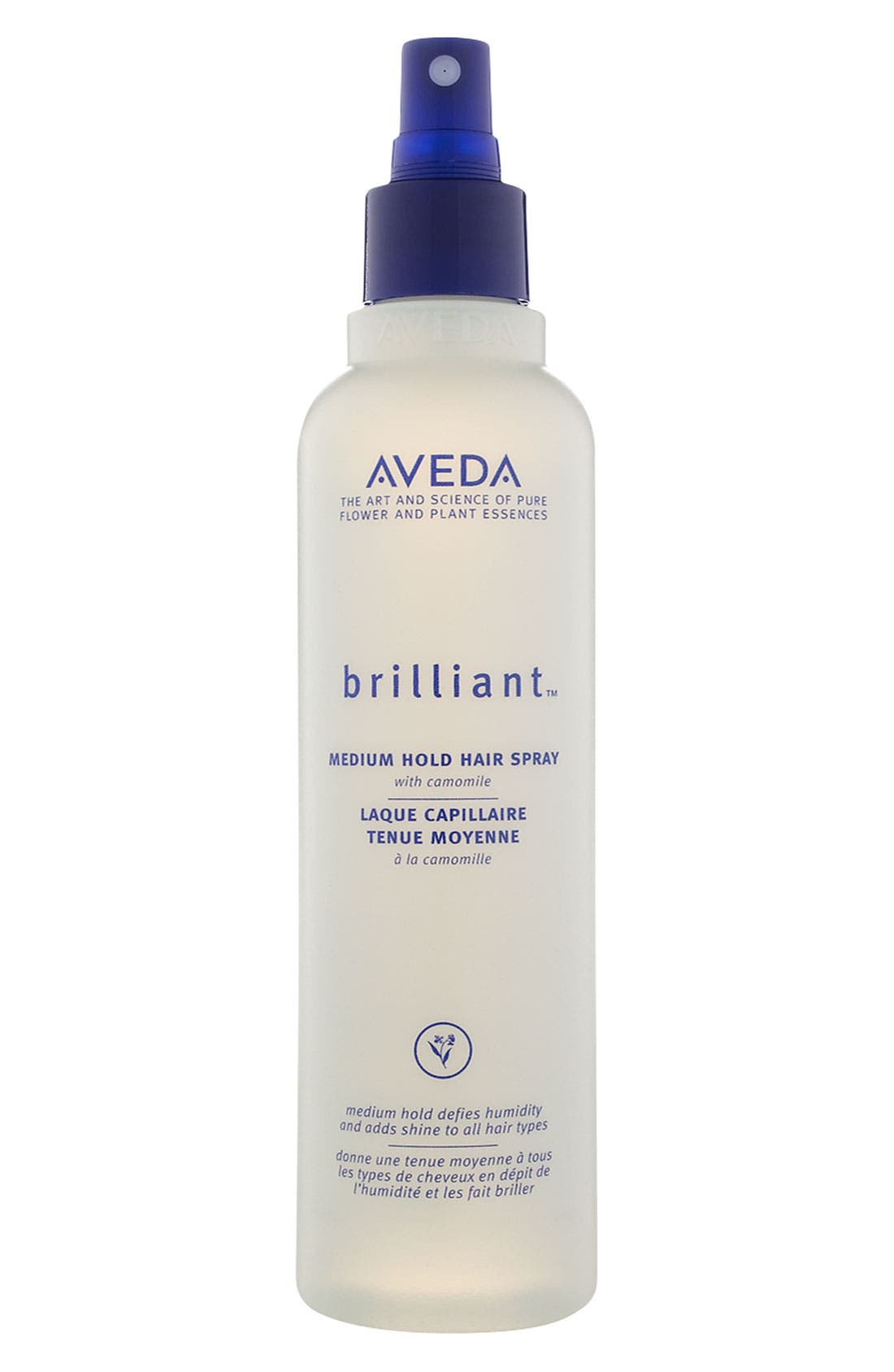 AVEDA,                             brilliant<sup>™</sup> Medium Hold Hair Spray,                             Main thumbnail 1, color,                             NO COLOR