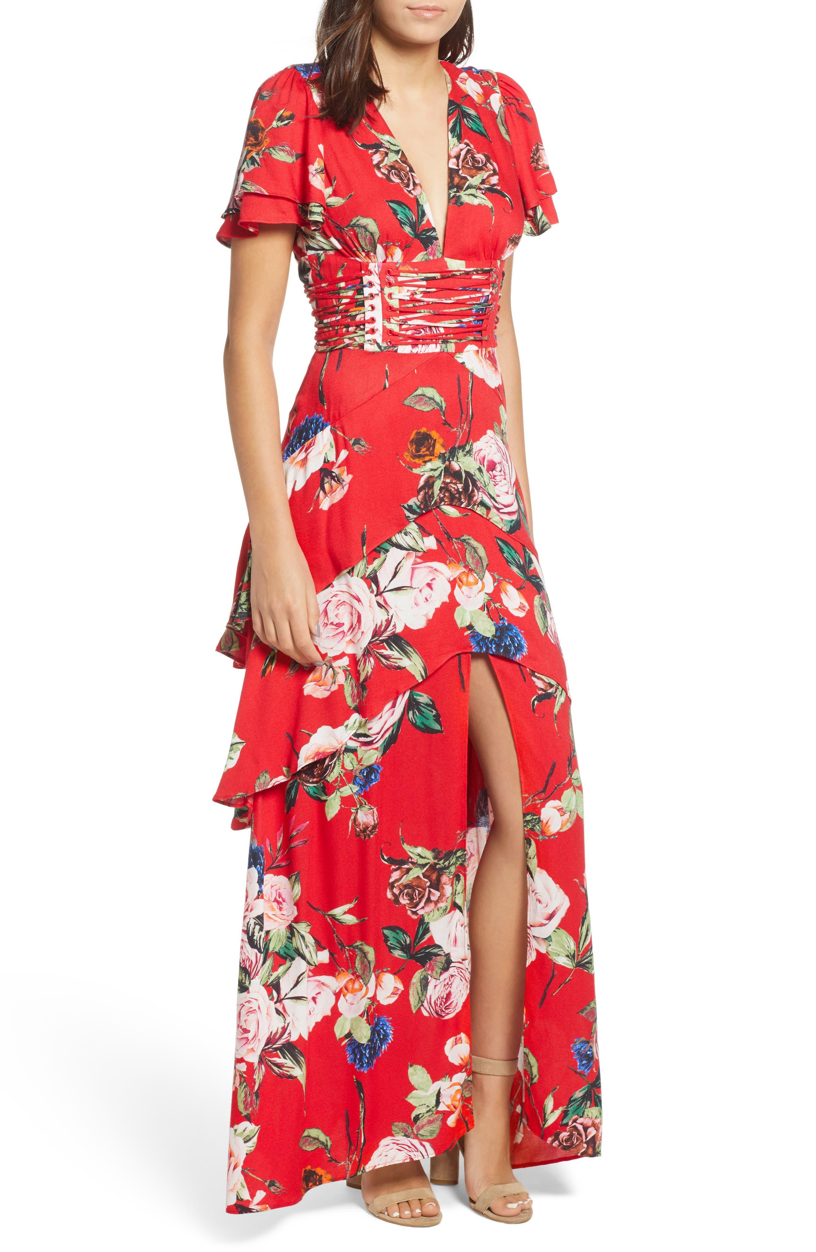 Red Garden Dresses