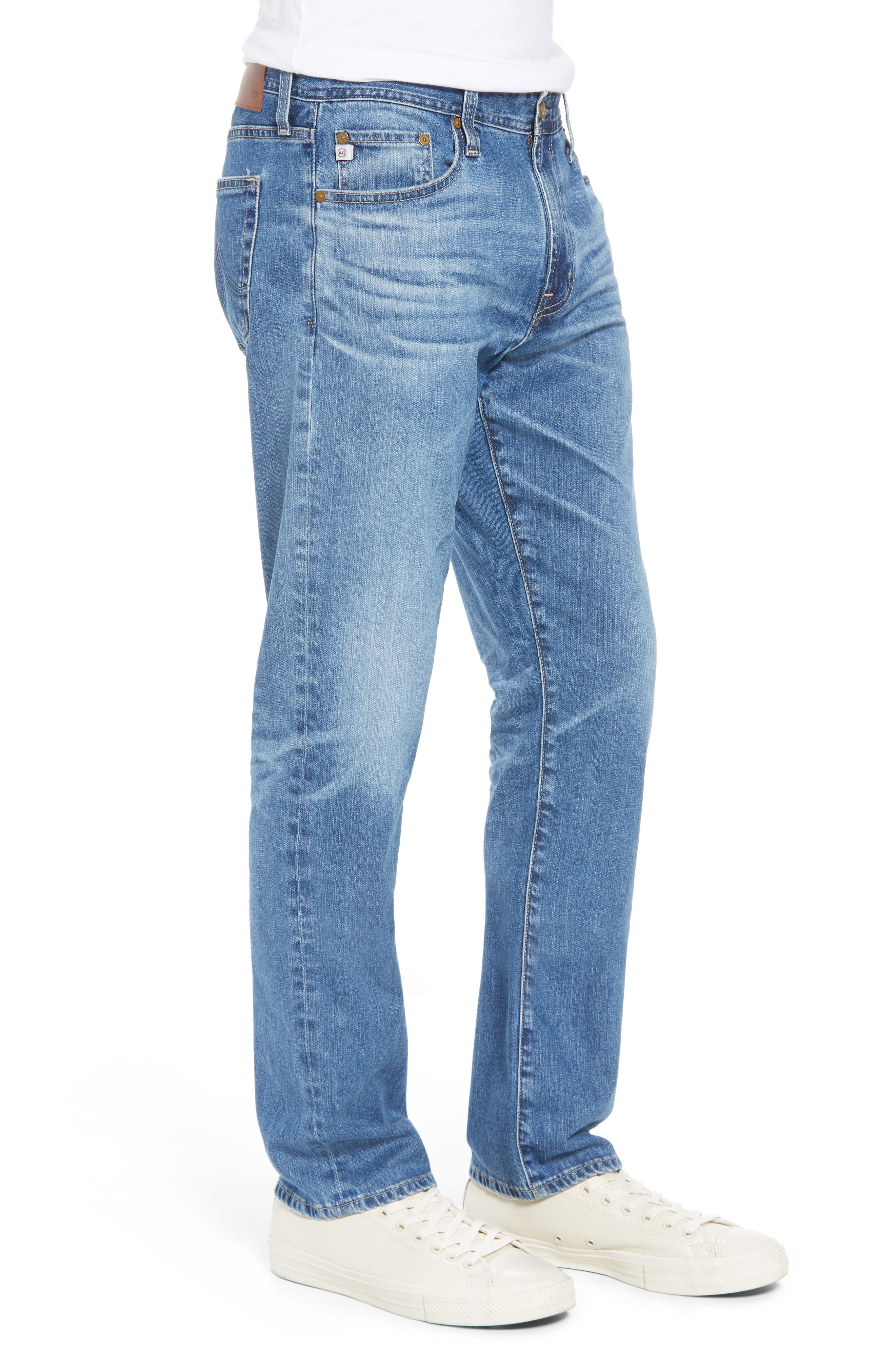 Everett Slim Straight Leg Jeans,                             Alternate thumbnail 3, color,                             15 YEARS OPEN ROAD