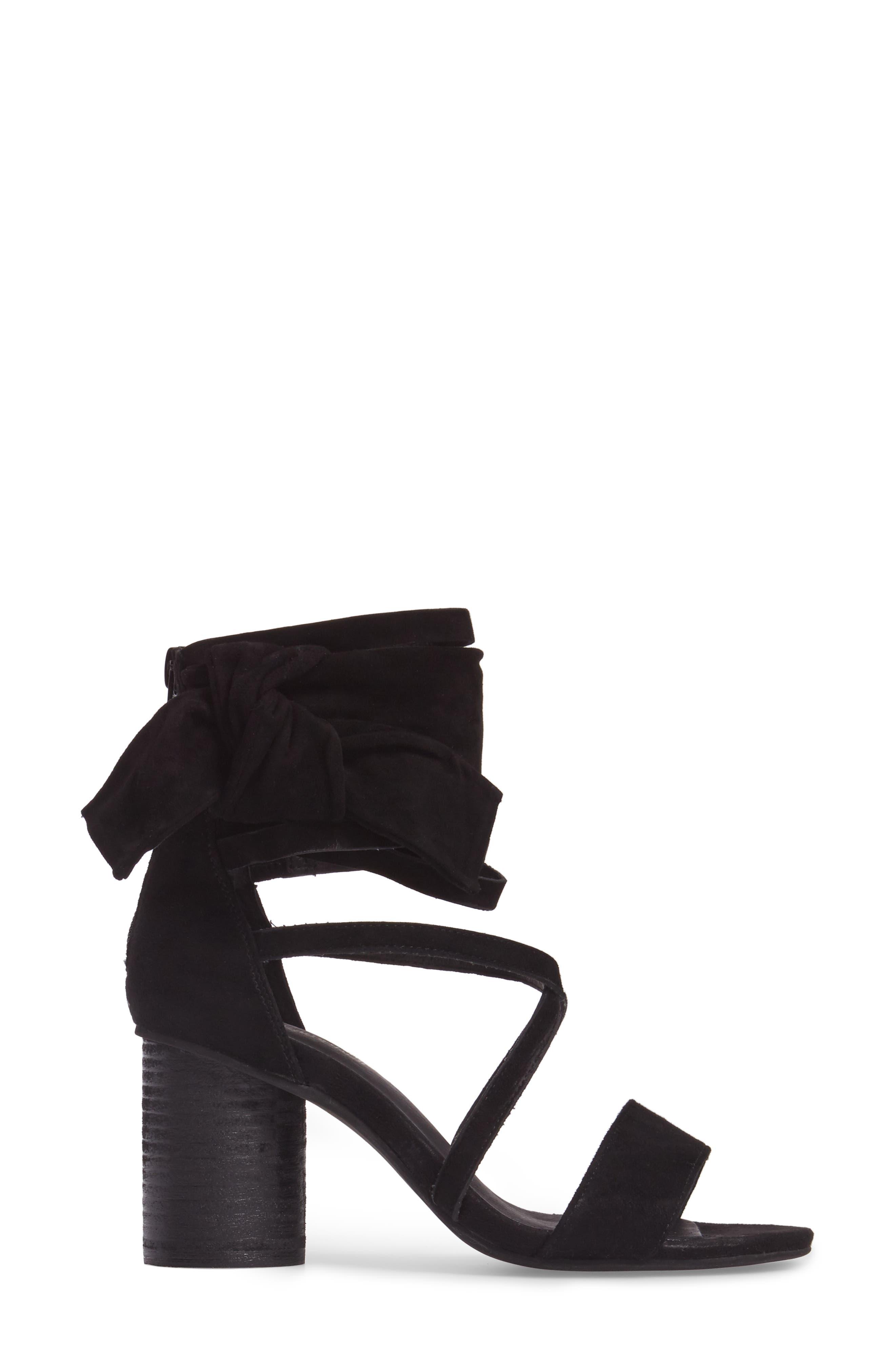 Destini Ankle Cuff Sandal,                             Alternate thumbnail 3, color,                             005
