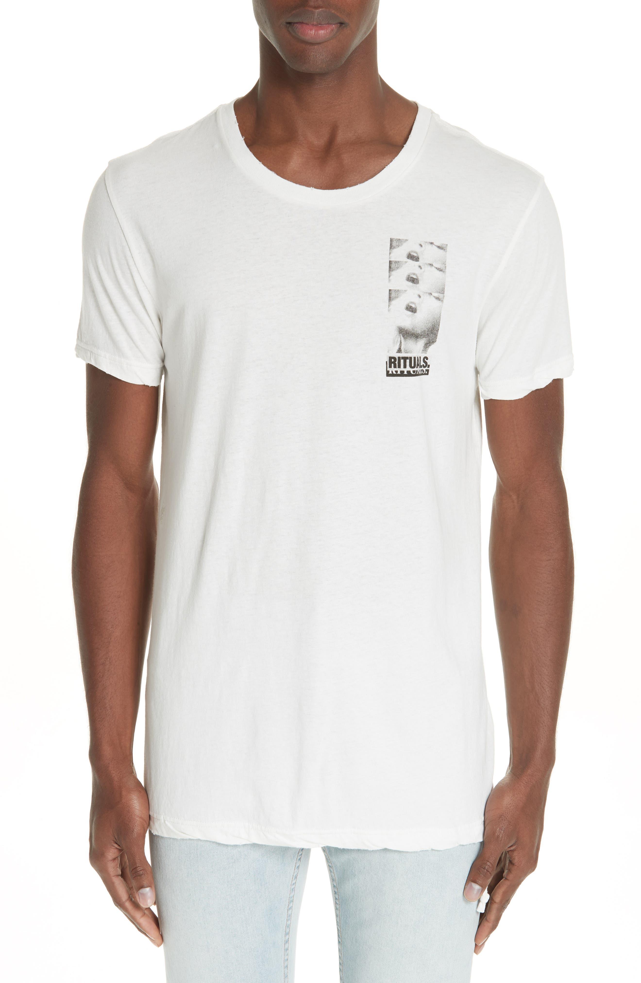 Rituals Graphic T-Shirt,                         Main,                         color, WHITE